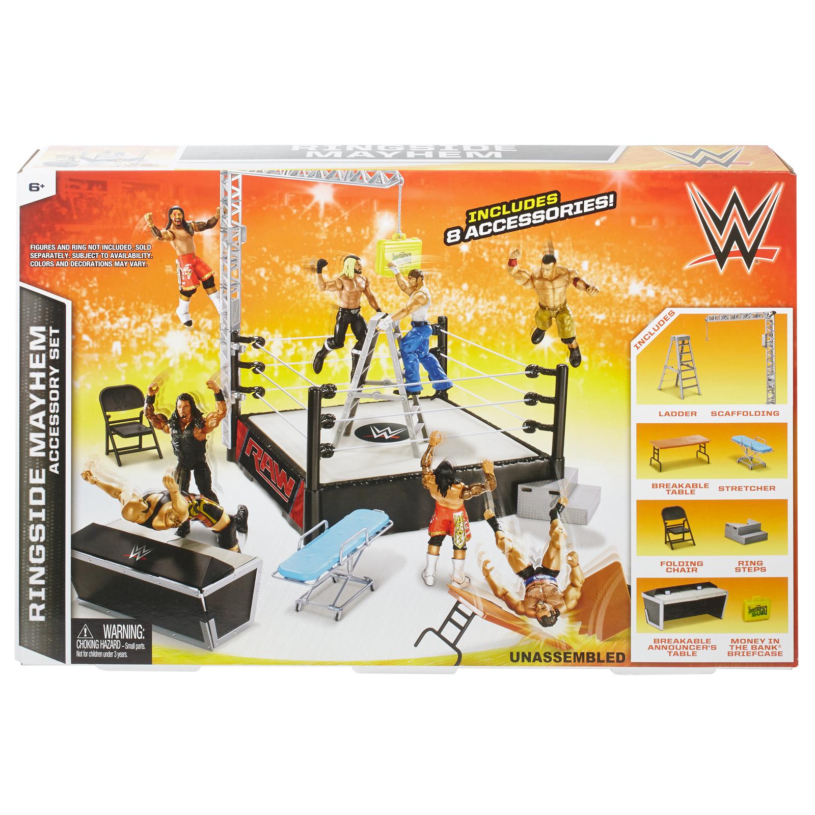 WWE Training Center Takedown(tm) - Ringside Mayhem PartNumber: 004W008023779004P KsnValue: 004W008023779004 MfgPartNumber: CJT21