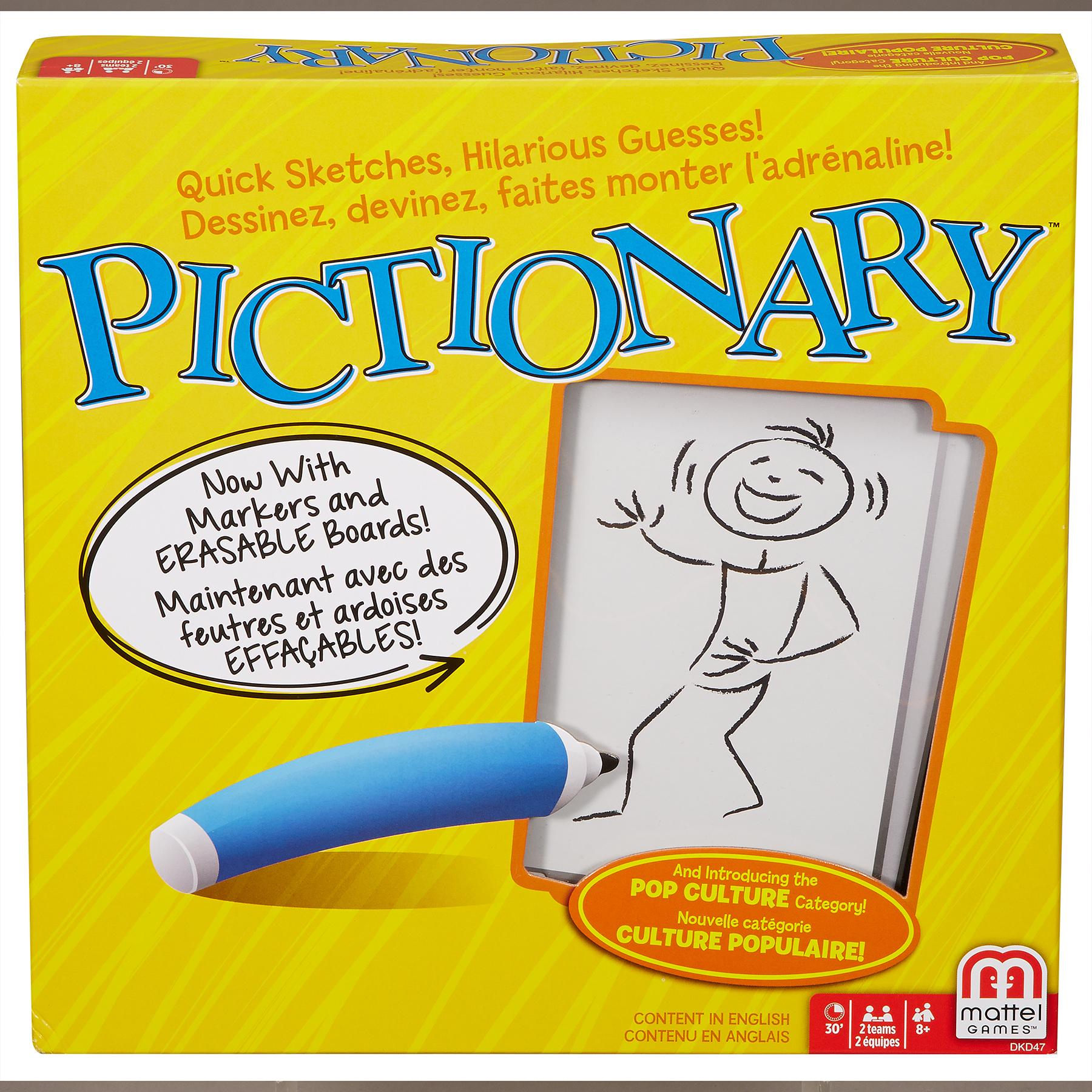 Mattel Pictionary Board Game im test