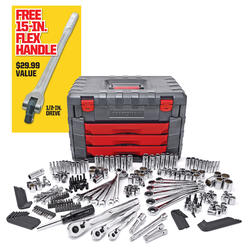 "Craftsman 254 Piece Mechanics Tool Set with 15"" Flex Handle + $32.70 Sears Credit"