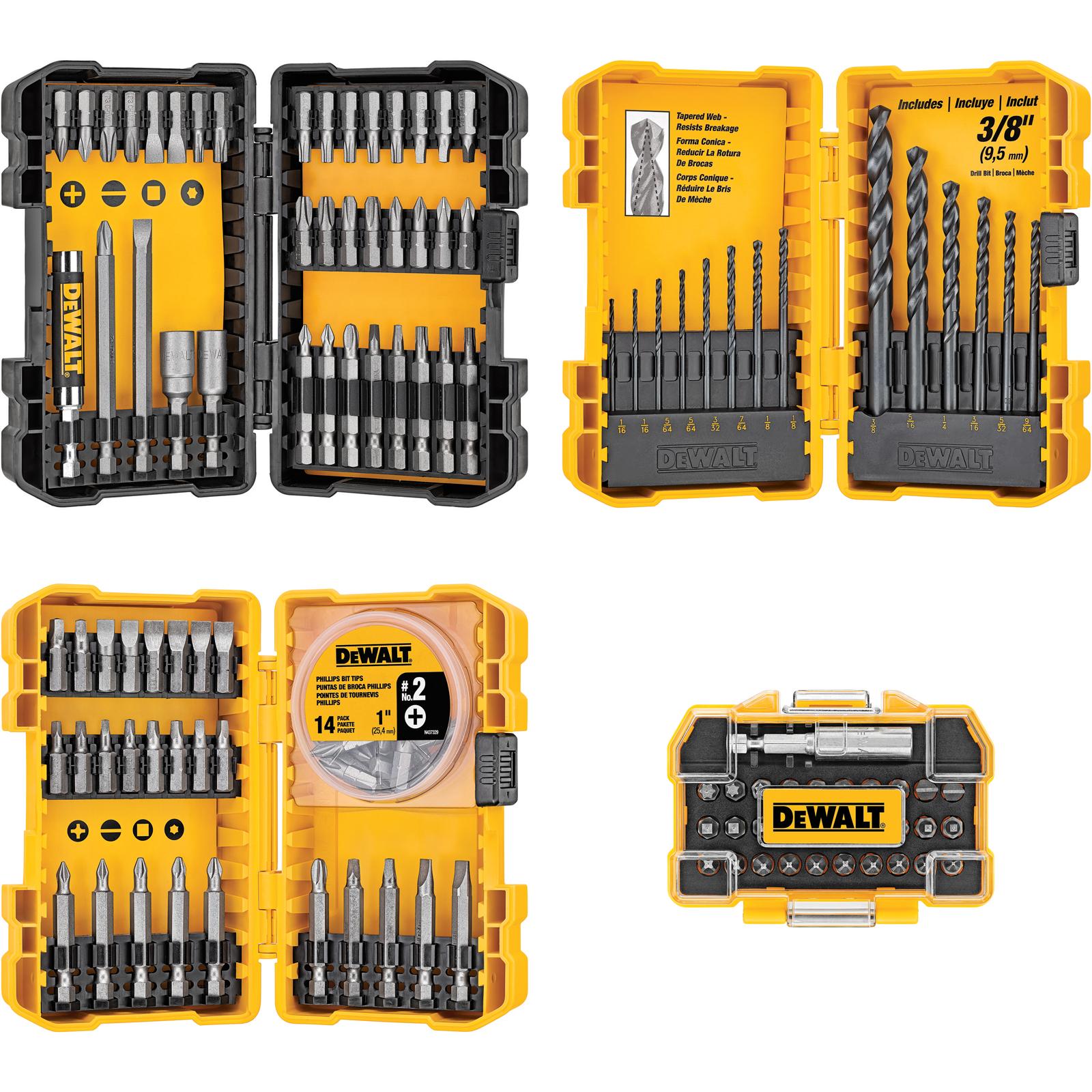 DeWalt 122 Piece Drill/Drive Set