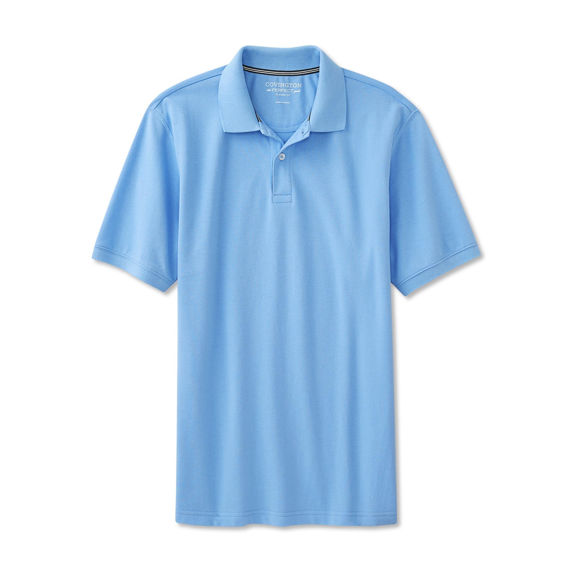 Covington Men's Big & Tall Classic Fit Polo Shirt