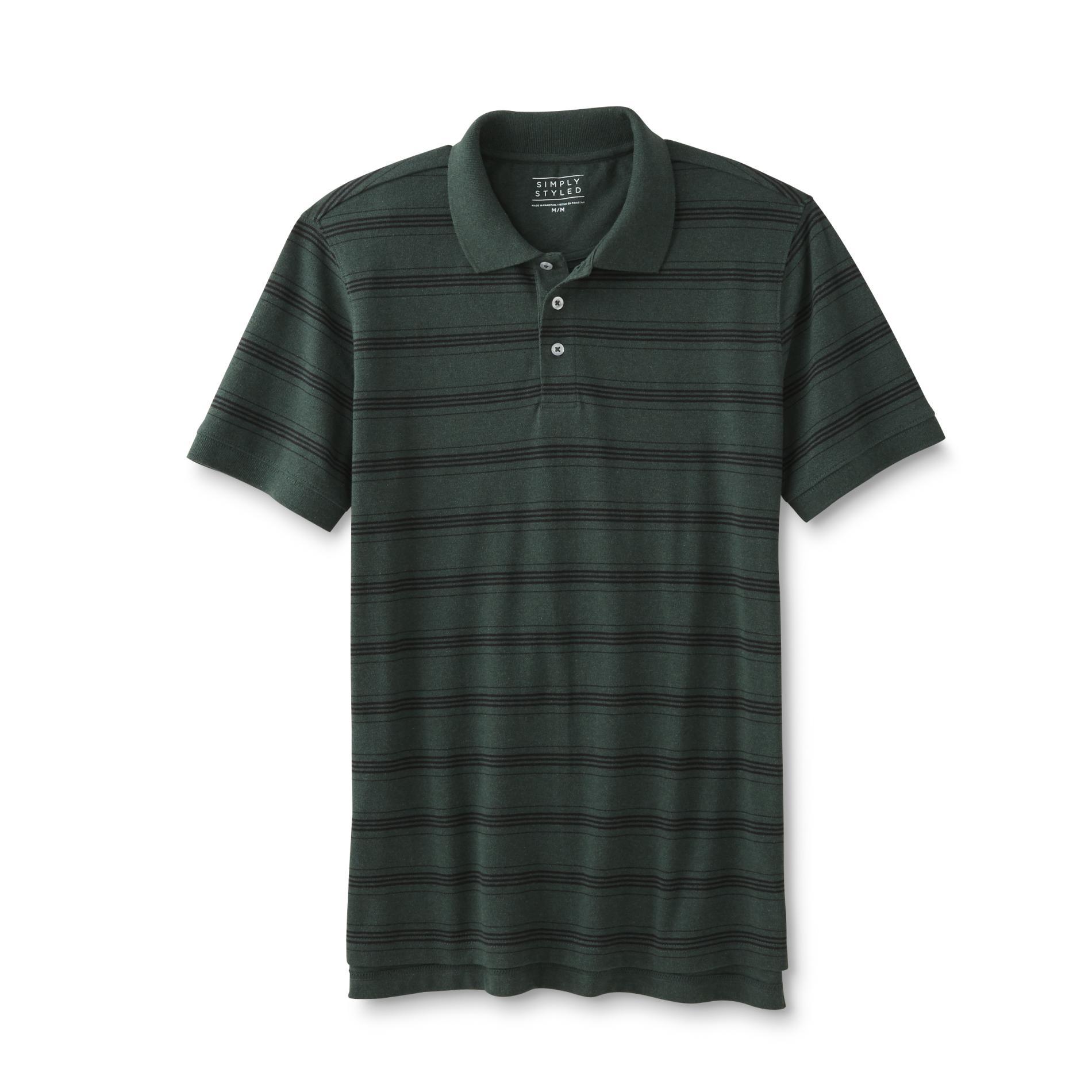 Men's Polo Shirt - Striped