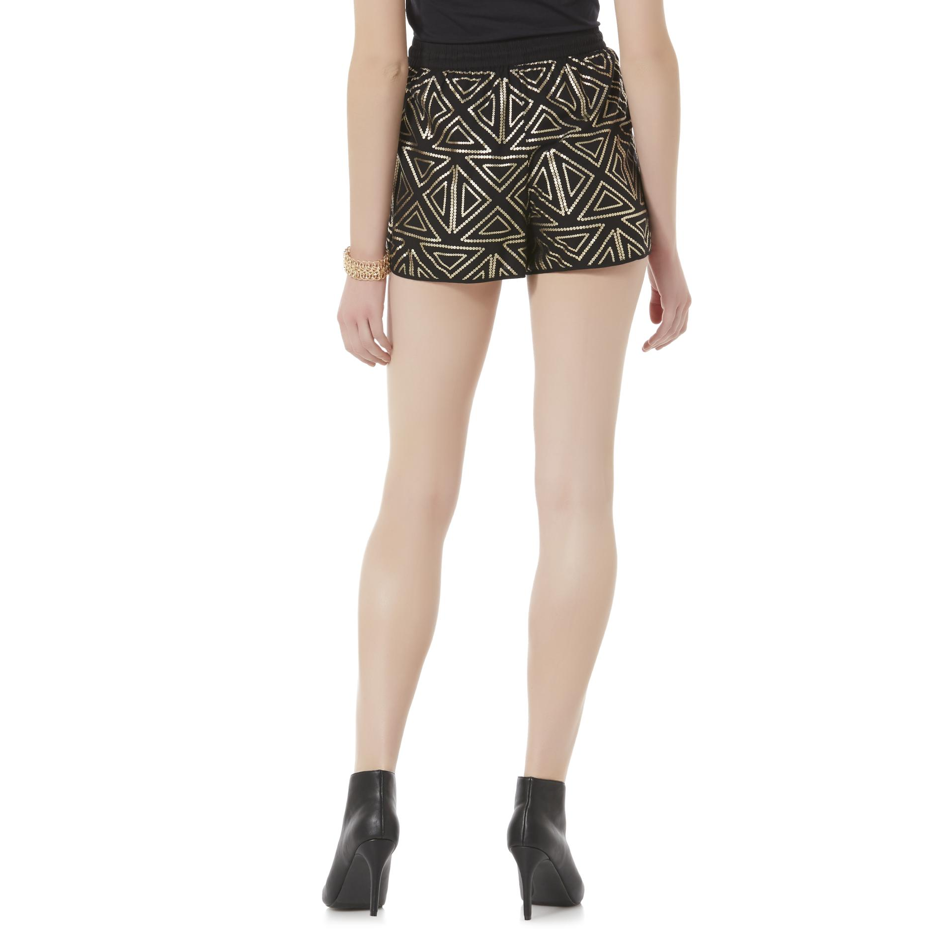 Bongo Junior's Dolphin Shorts - Geometric