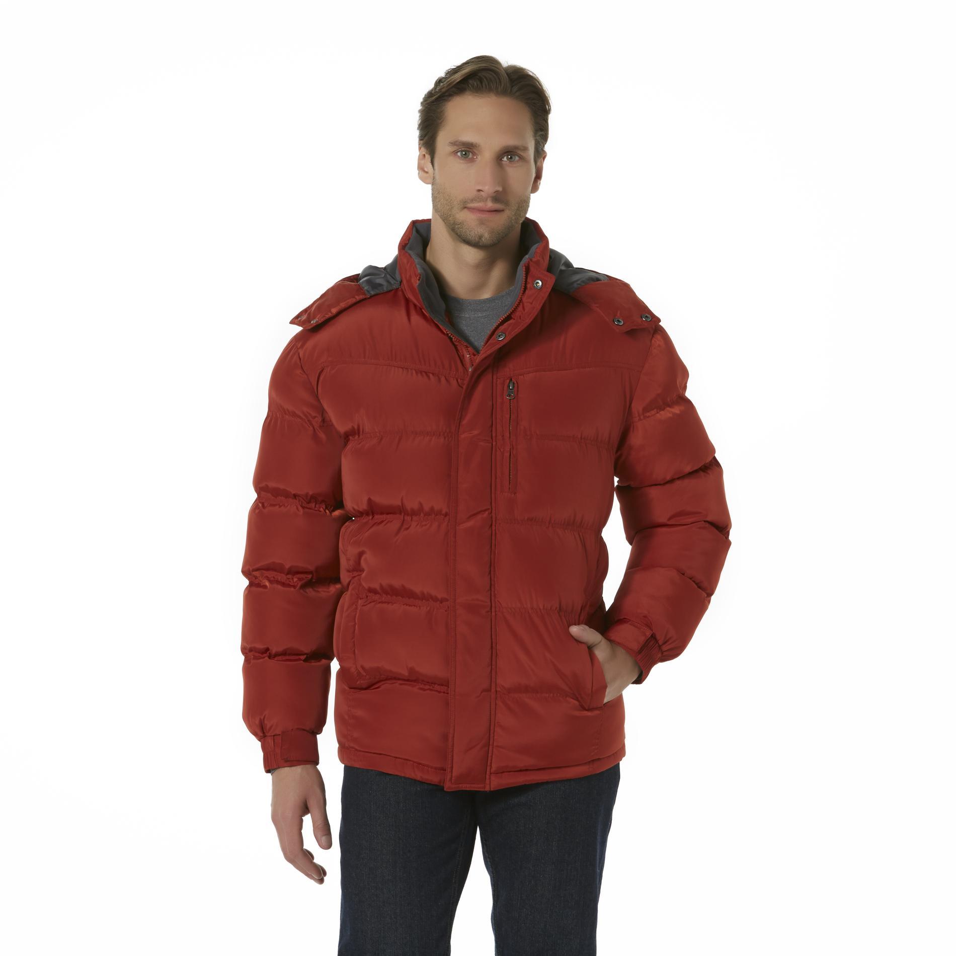 Men's Hooded Puffer Coat