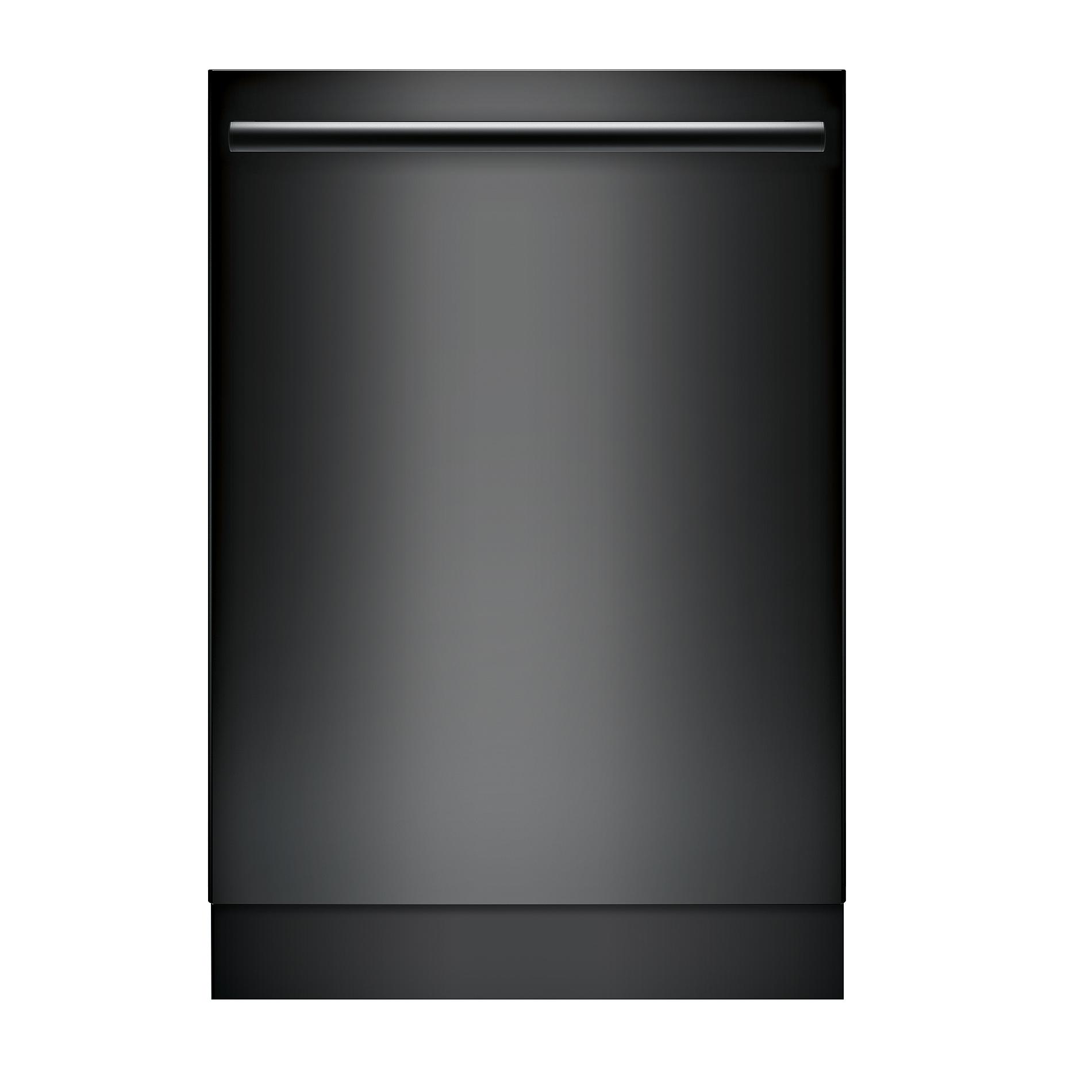 Bosch Shxm78w56n 24 800 Series Built In Dishwasher W Bar Handle Black