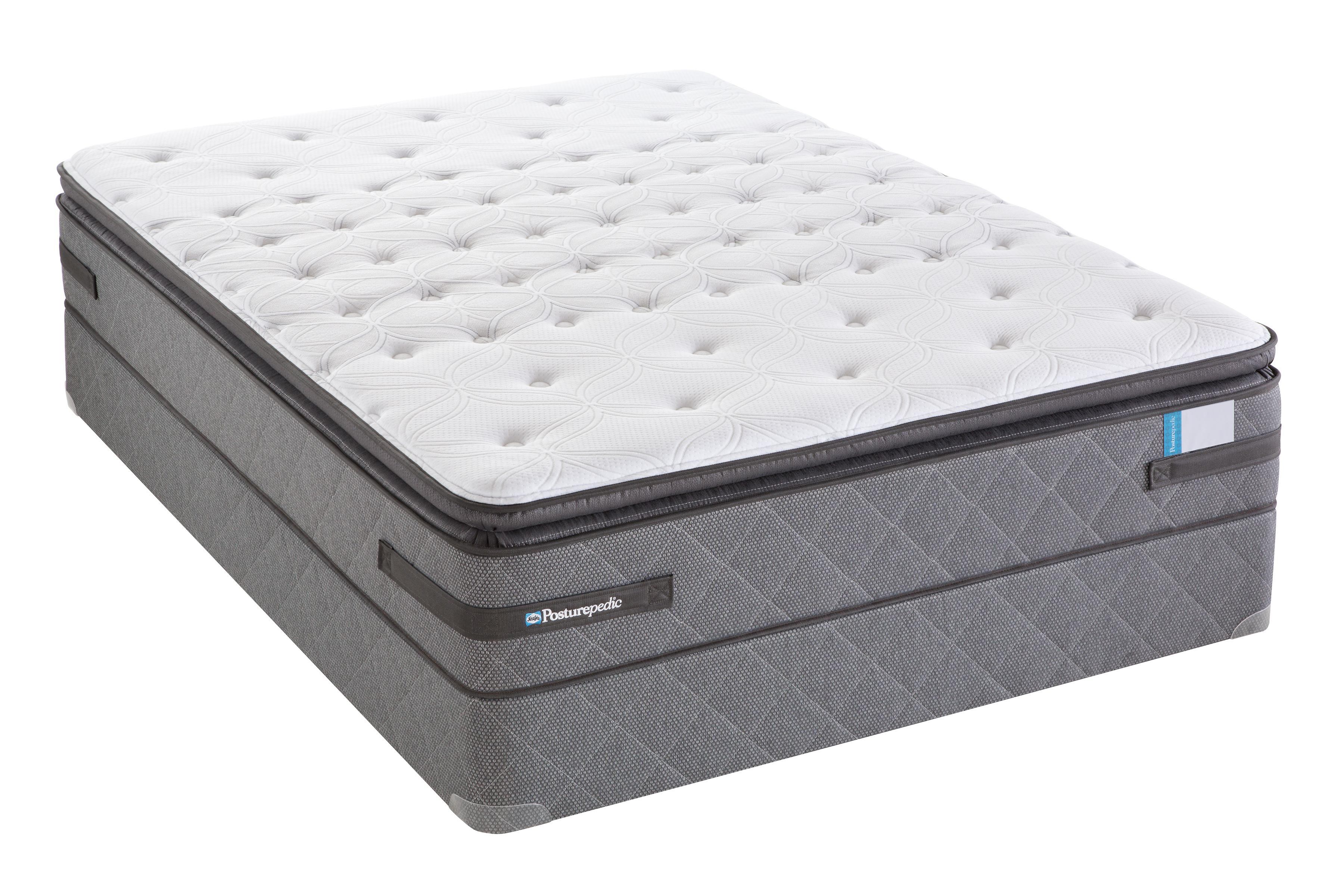 Sealy Posturepedic Mackville Cushion Firm Euro Top King Mattress Home Mattresses