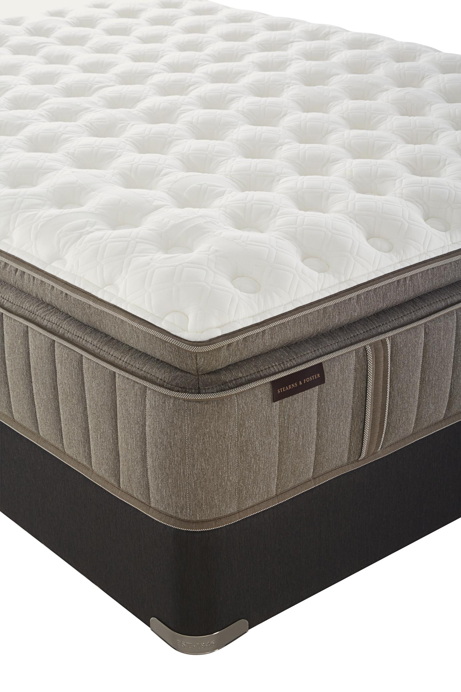 Stearns Foster Mckee Luxury Firm Euro Pillowtop King Mattress