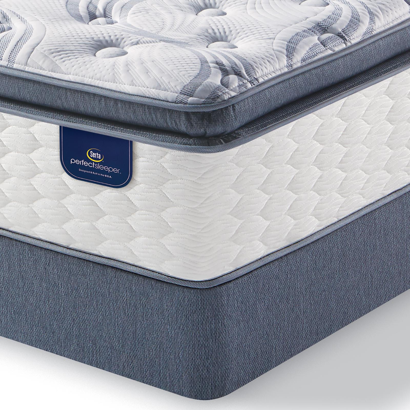 Serta Perfect Sleeper Teddington Plush Queen Mattress