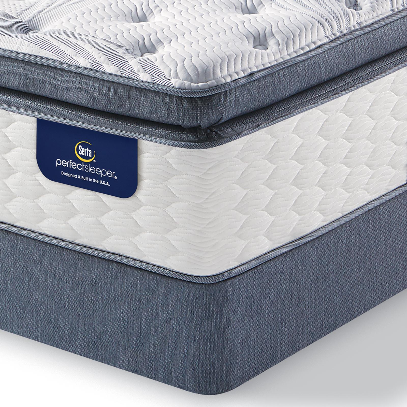 Serta 92710 Perfect Sleeper Walworth Firm Full Super Pillowtop Mattress