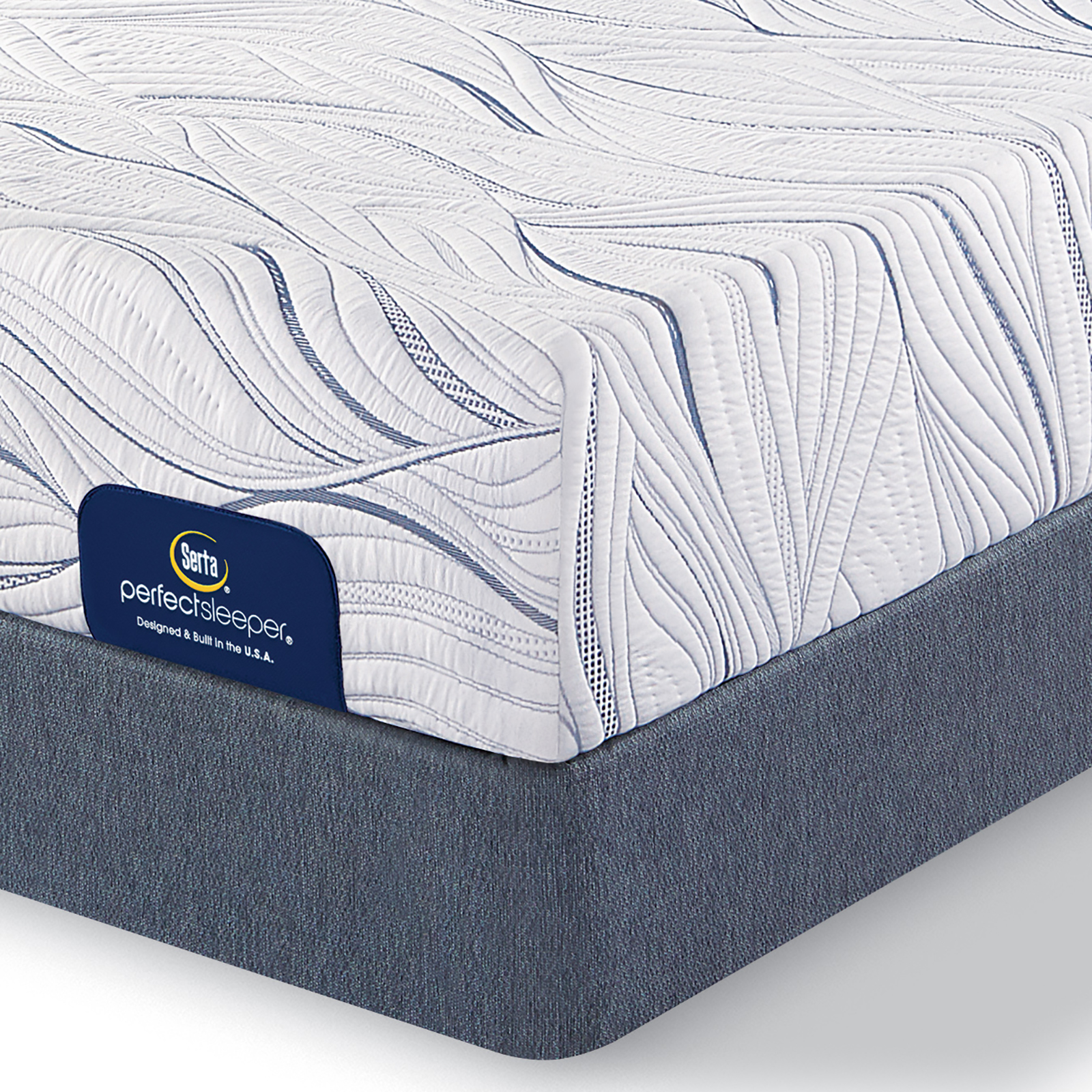 serta perfect sleeper stamford hill plush queen mattress