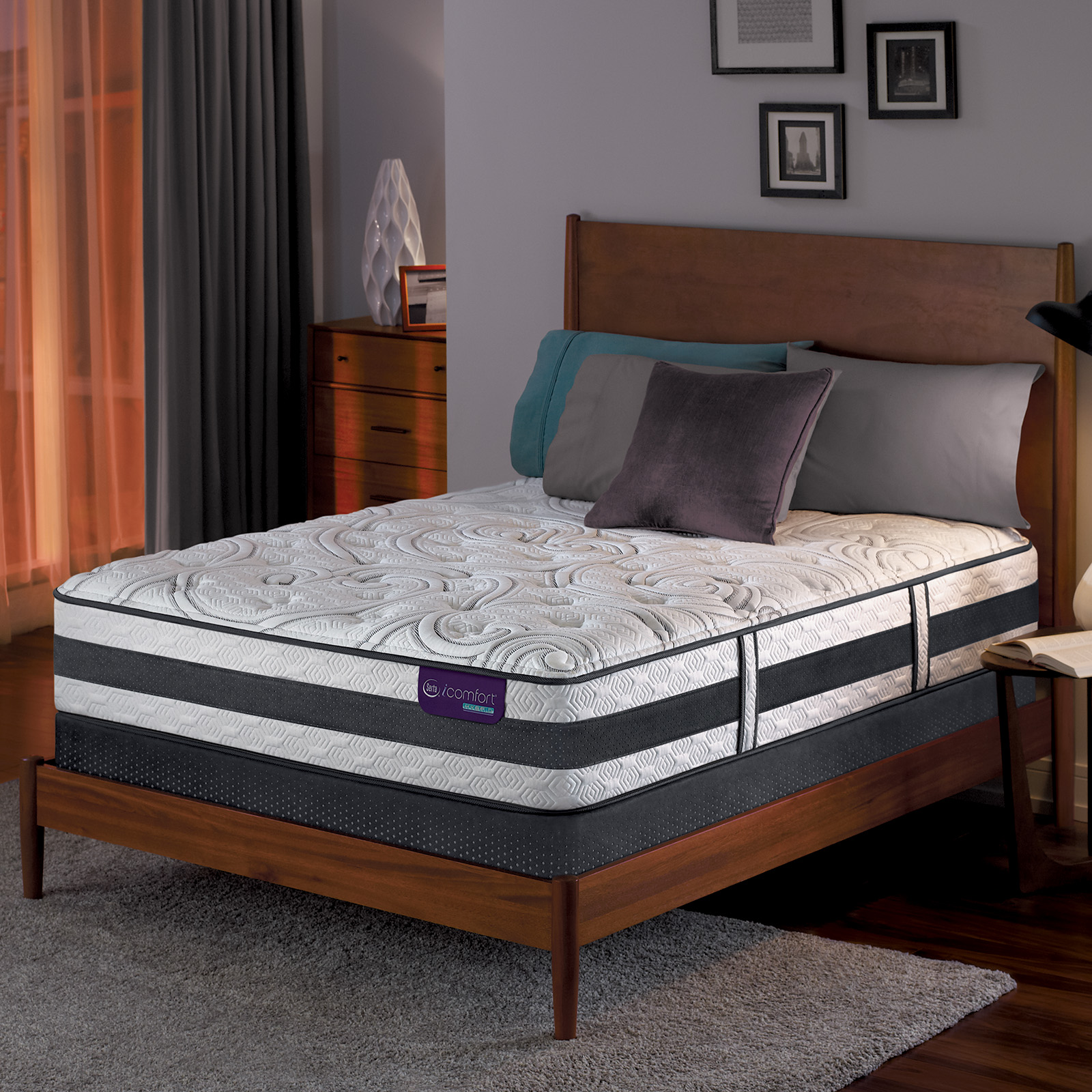 Serta Hybrid Lause Ii Plush King Mattress 1
