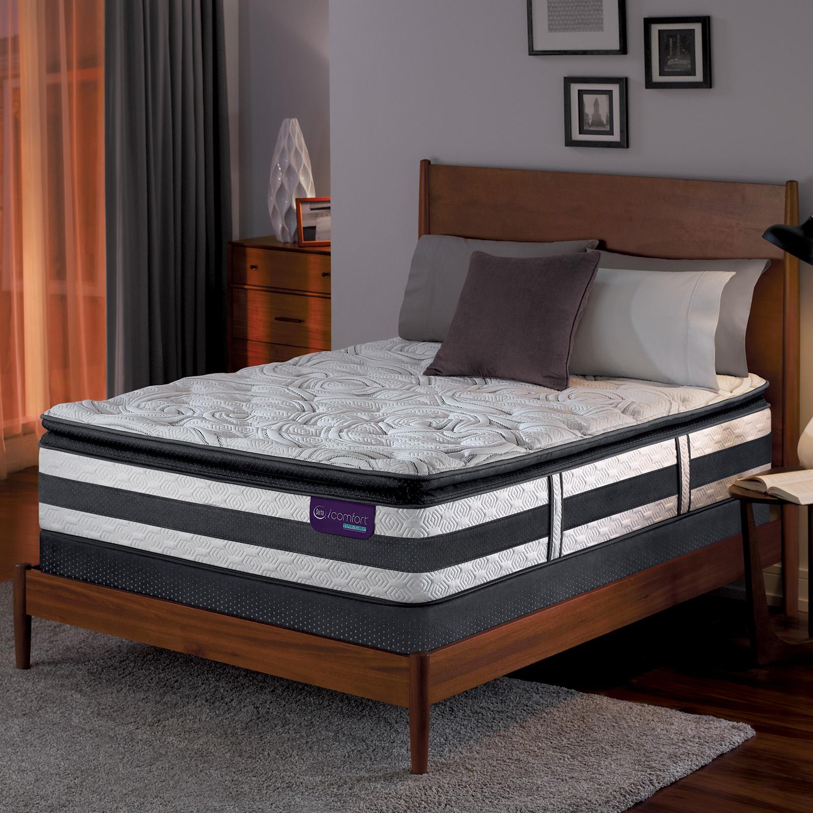 Serta Hybrid Observer King Super Pillowtop Mattress