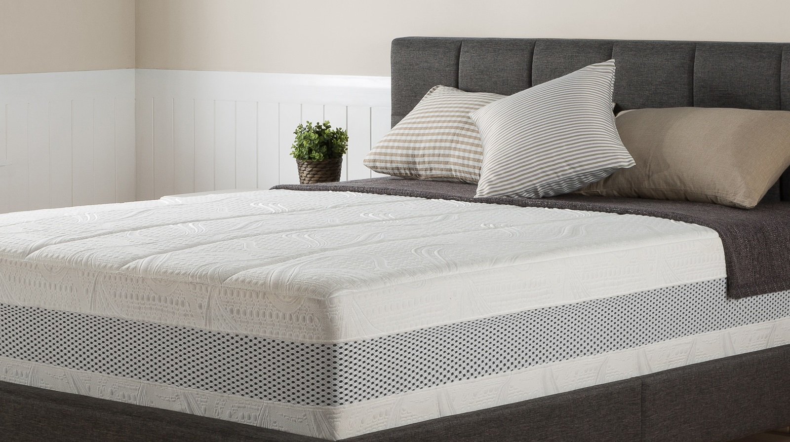 Night Therapy 14 Inch Grand Memory Foam Mattress Only Queen