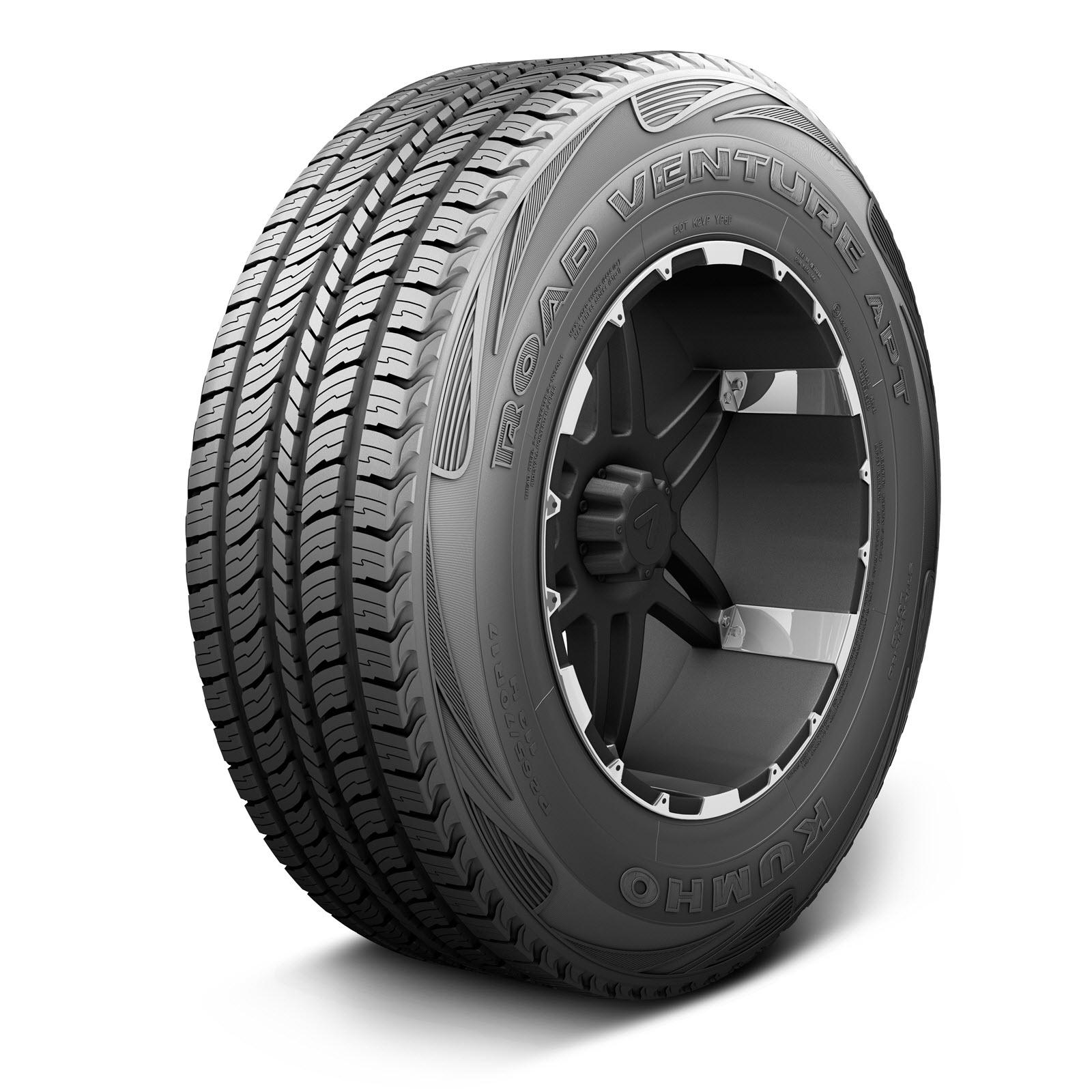 Kumho Road Venture APT KL51 LT245/75R16 ES BW All-Season Tire
