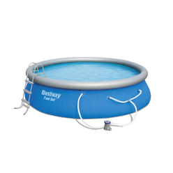 Bestway 15 ft. X 42 in. Inflatable Ring Pool + $126.60 Credit