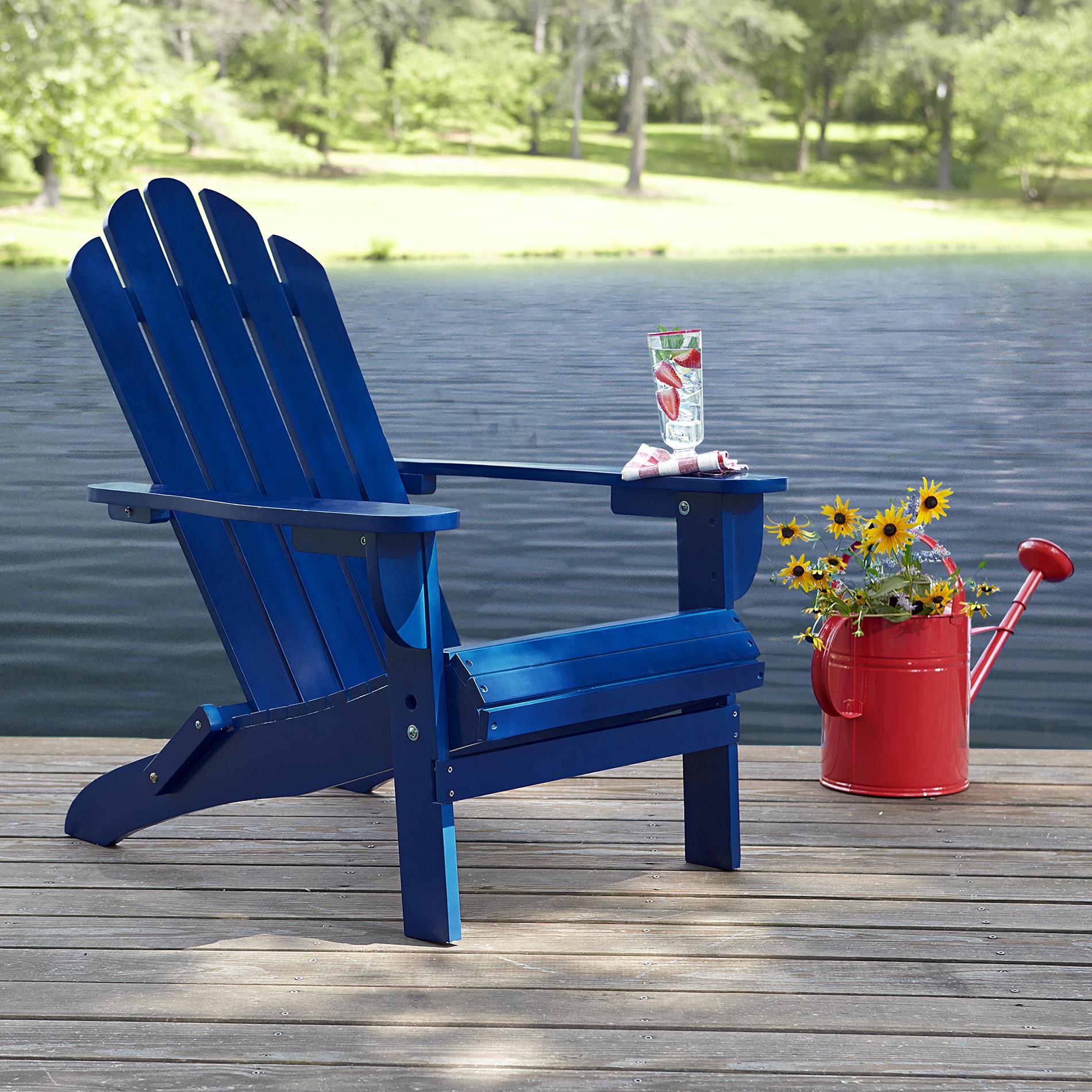Garden Oasis Adirondack Chair Blue