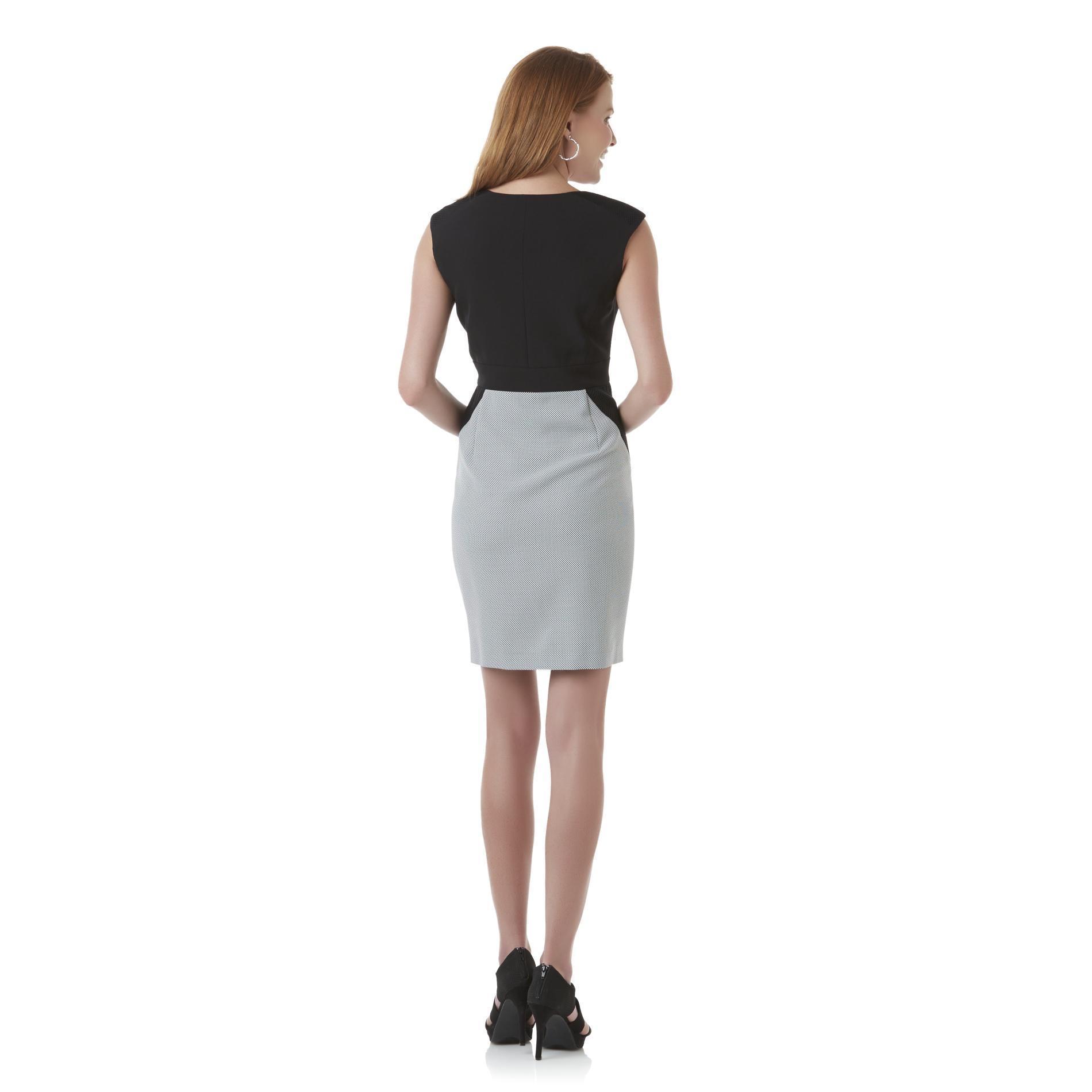 Covington Women's Sheath Dress - Polka Dot