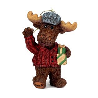 heroes at home 35 christmas moose ornament - Christmas Moose