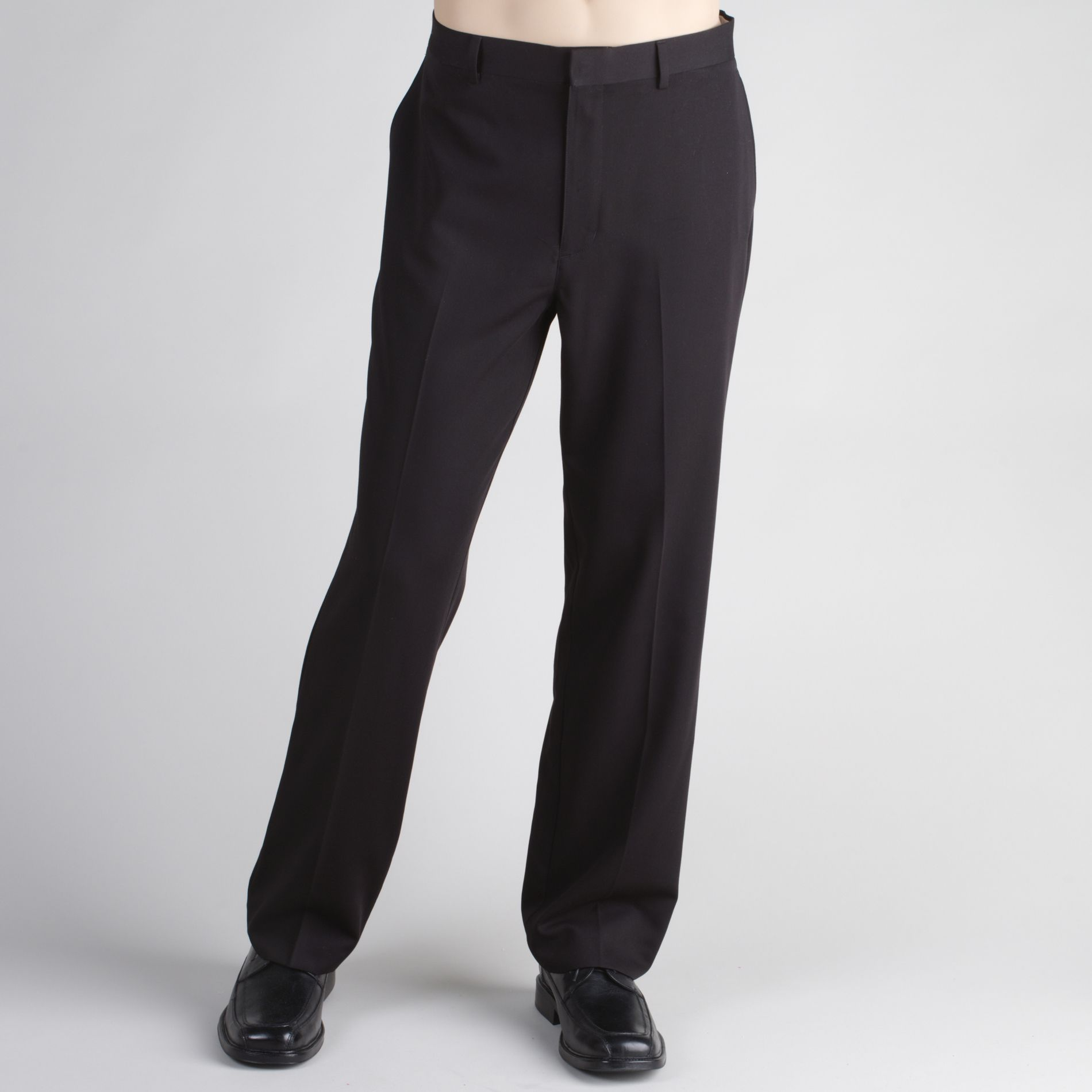 Covington Men's Big & Tall Flat-Front Dress Pants