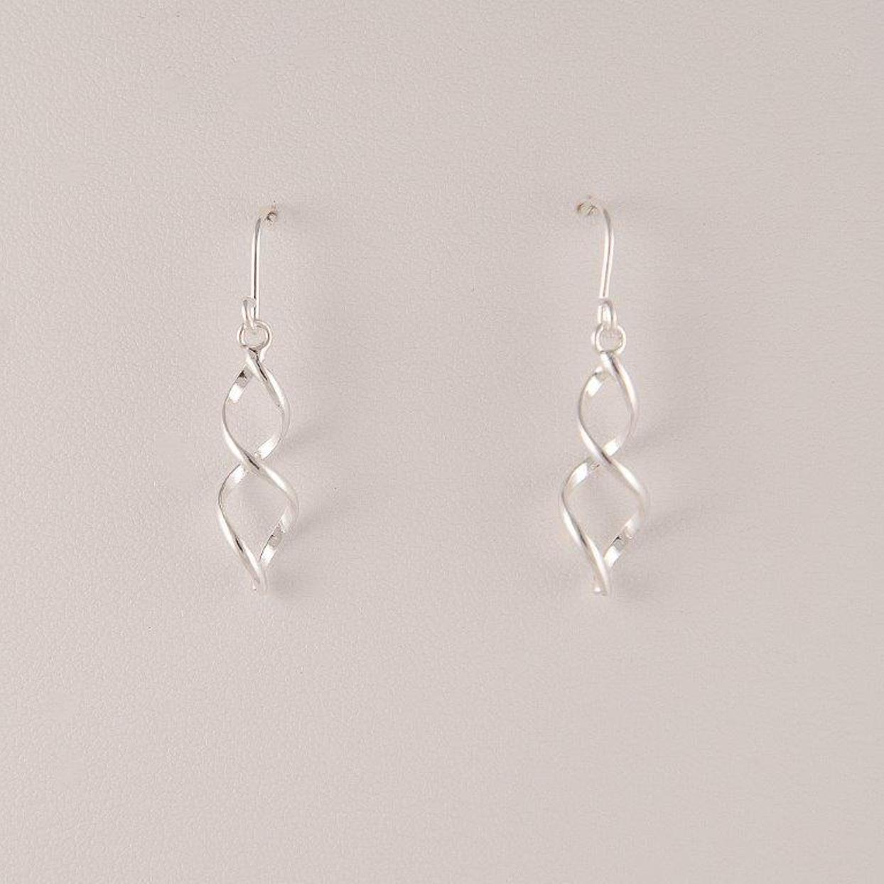Pure 100 Pure 100 Silver Small Squiggle Wire Drop Earring PartNumber: 04469185000P KsnValue: 6025392 MfgPartNumber: 1B1-20171