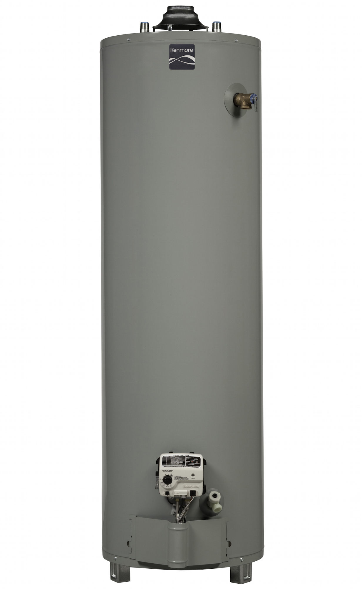 Kenmore 55630 30 gal. 6-Year Tall Natural Gas Ultra Low NOx Water Heater (Select California Markets) PartNumber: 04255630000P KsnValue: 04255630000 MfgPartNumber: 55630