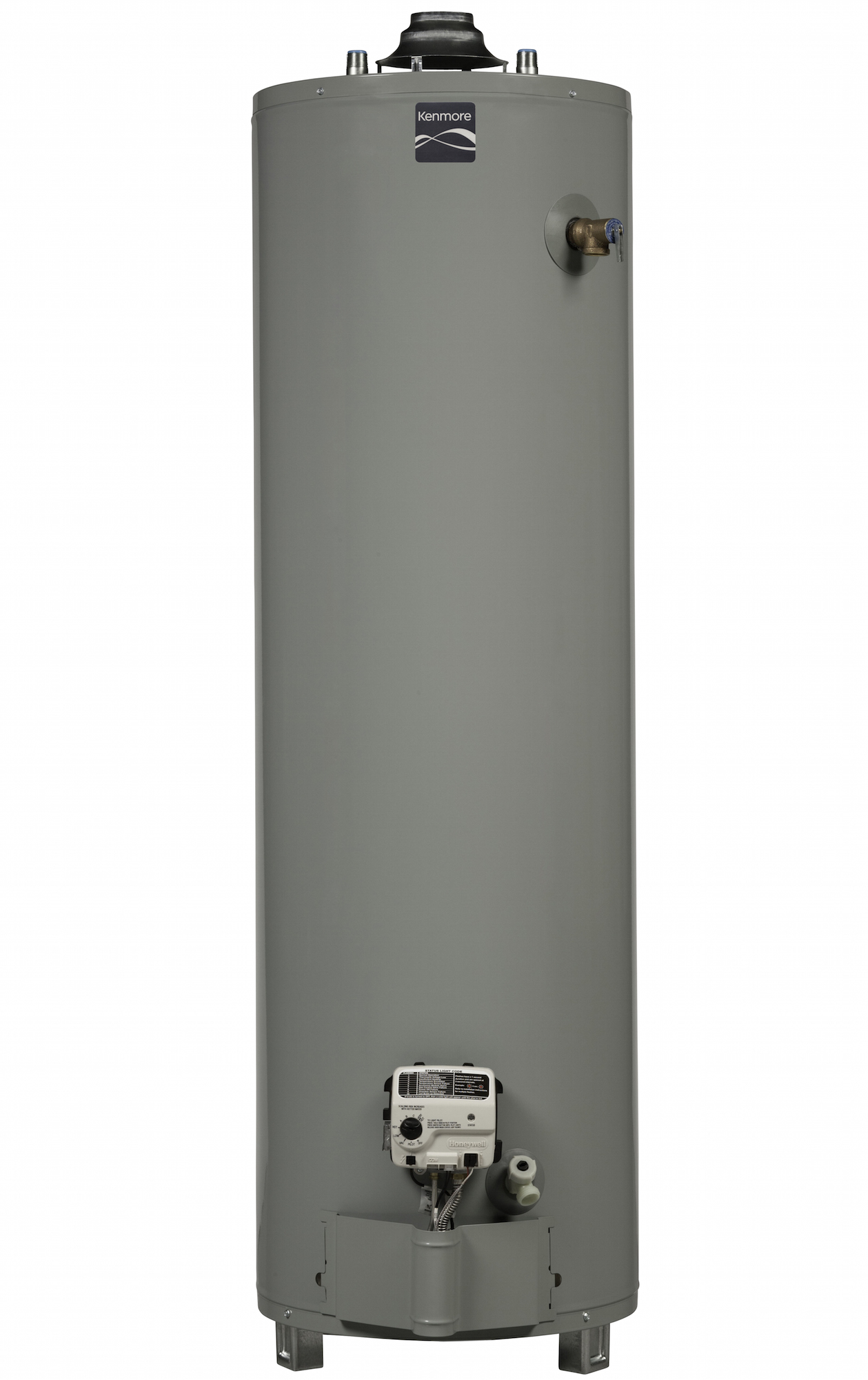 Kenmore 55650 50 gal. 6-Year Tall Natural Gas Ultra Low NOx Water Heater (Select California Markets) PartNumber: 04255650000P KsnValue: 04255650000 MfgPartNumber: 55650