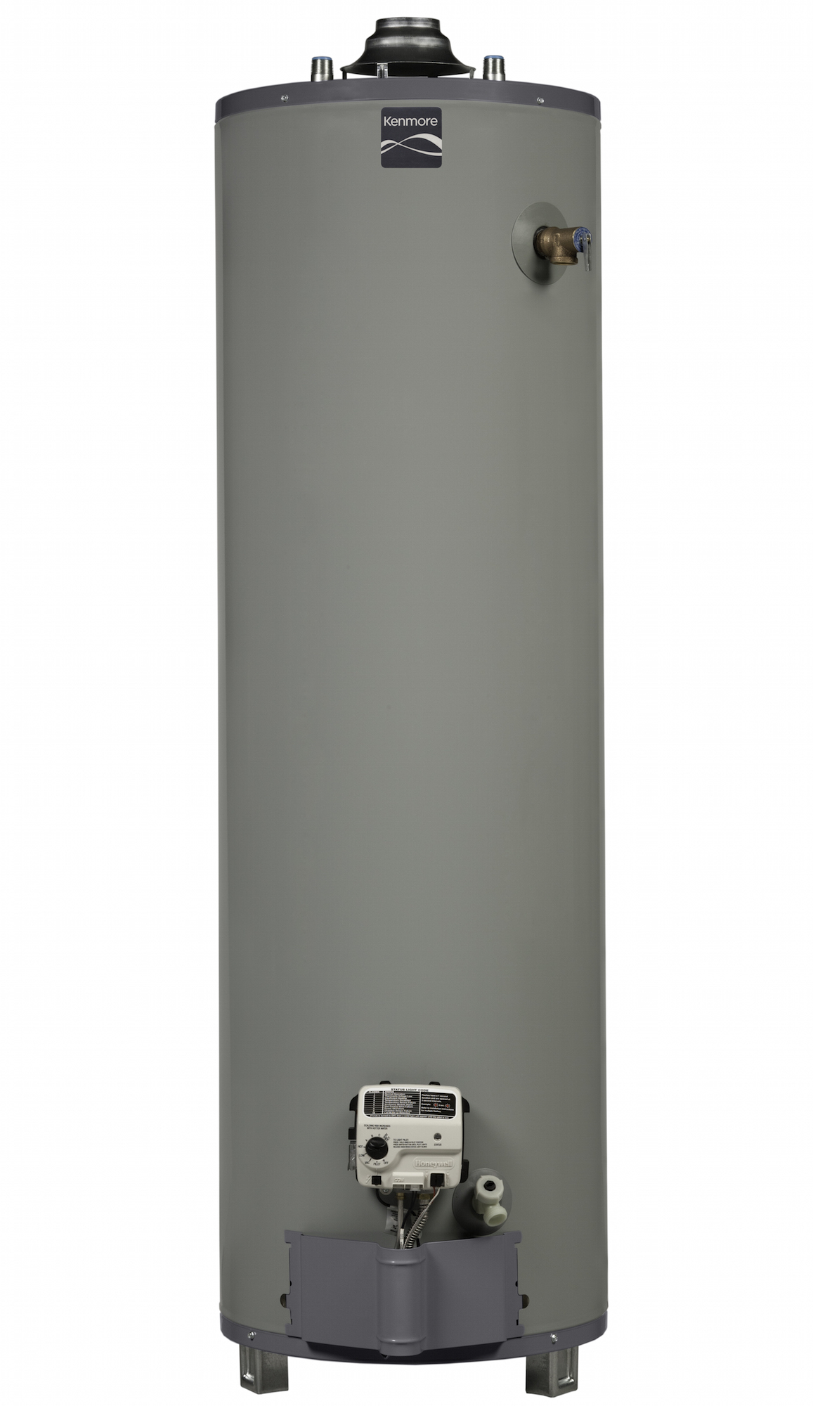 Kenmore 55940 40 gal. 9-Year Tall Natural Gas Ultra Low NOx Water Heater (Select California Markets) PartNumber: 04255940000P KsnValue: 7833952 MfgPartNumber: 55940