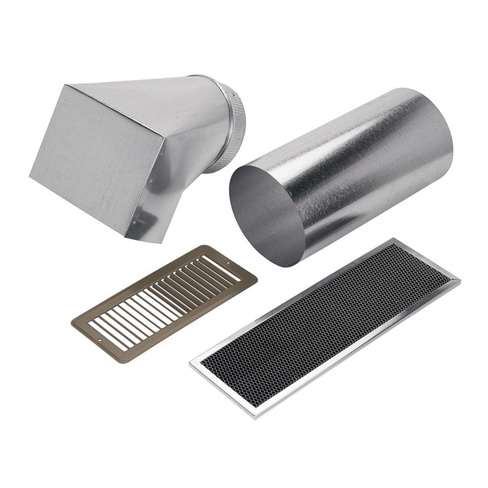 Range Hood Ducting ~ Broan ndk non duct kit for range hood pm