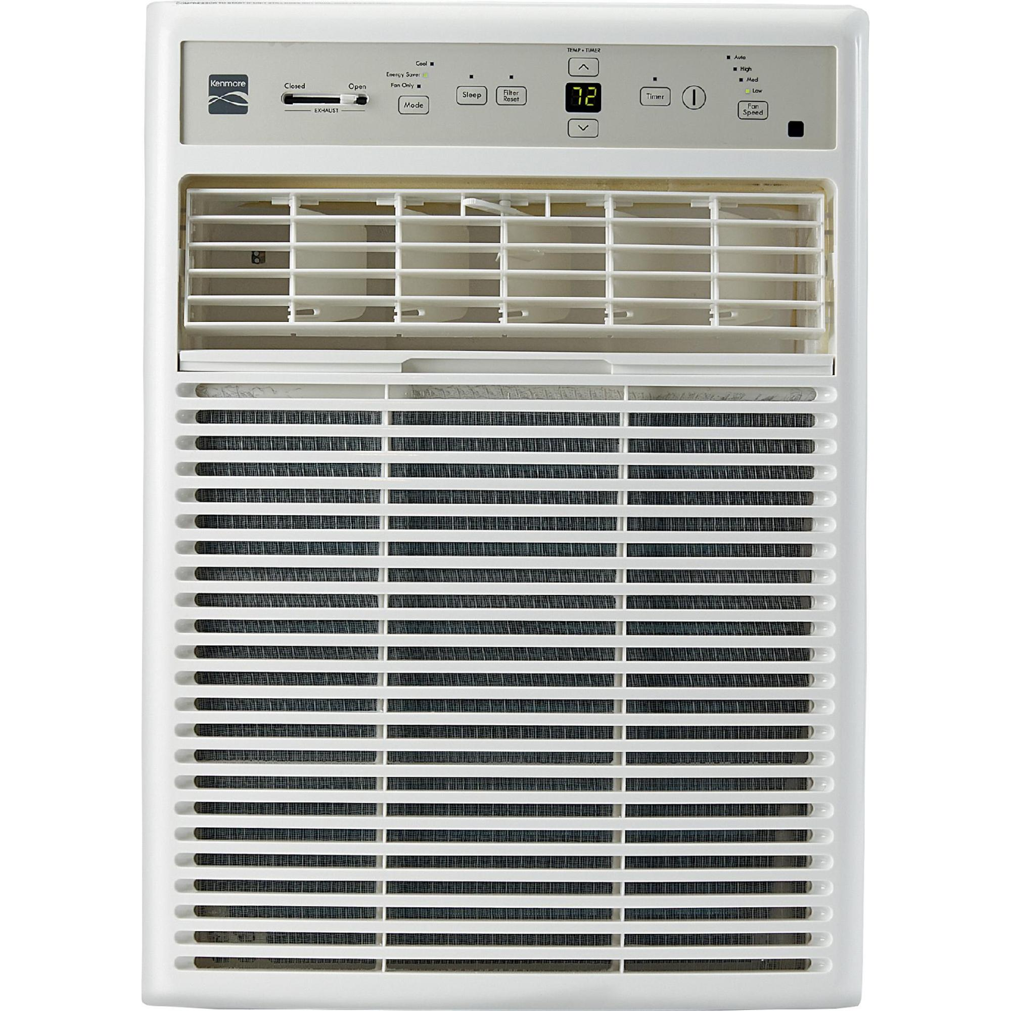Image of Kenmore 10,000 BTU Window-Mounted Mini-Compact Air Conditioner, White