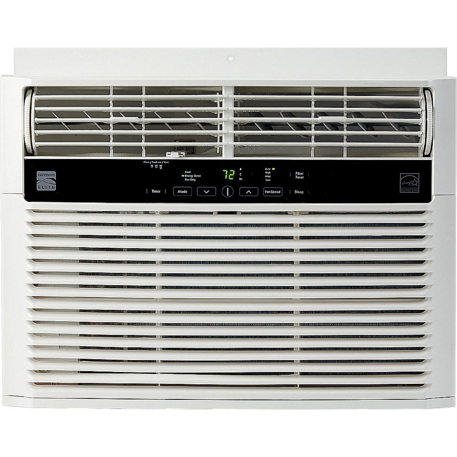 Kenmore 77250 25,000 BTU 230V Window-Mounted Air Conditioner - White