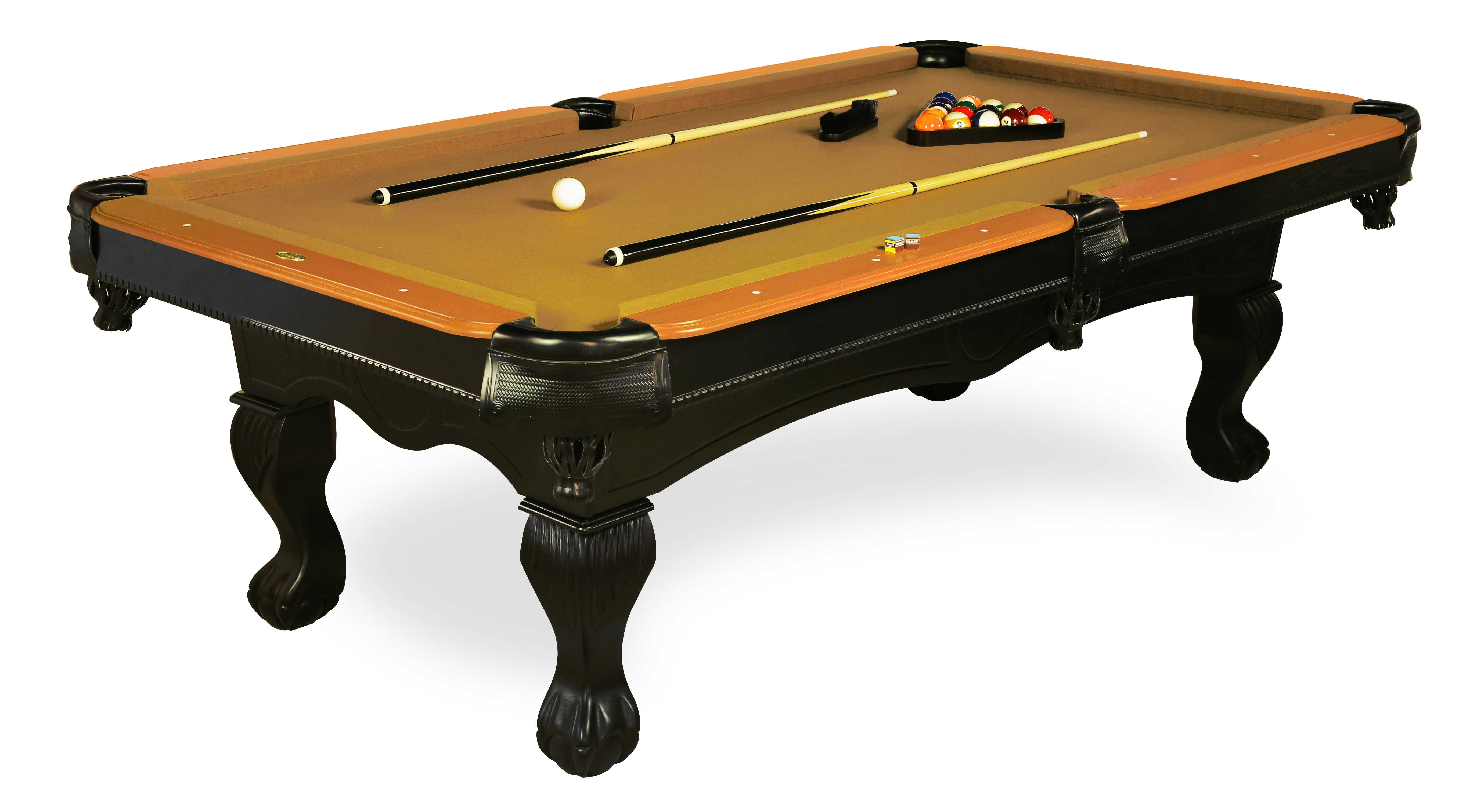 """""""""""""""Sportcraft Rutherford 96"""""""""""""""" Billiard Table Legs Box 2 of 2 *LEGS ONLY - DOES NOT INCLUDE TABLE TOP, Brown"""""""""""" im test"""