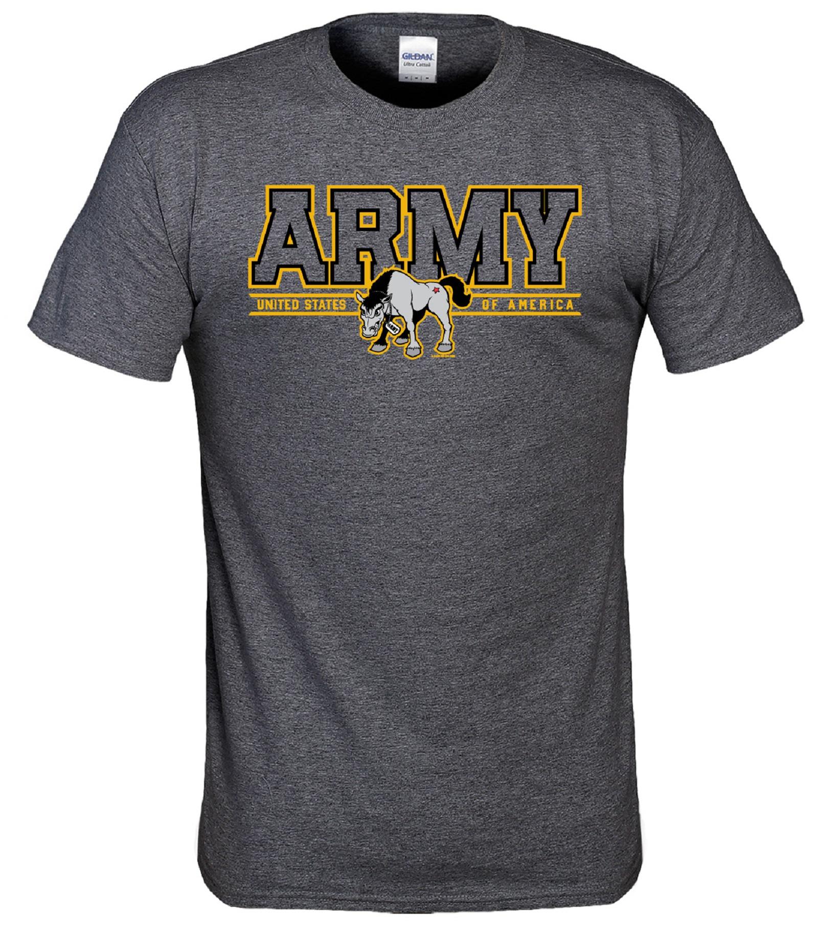 NCAA Men's U.S. Army T-Shirt, Size: Medium