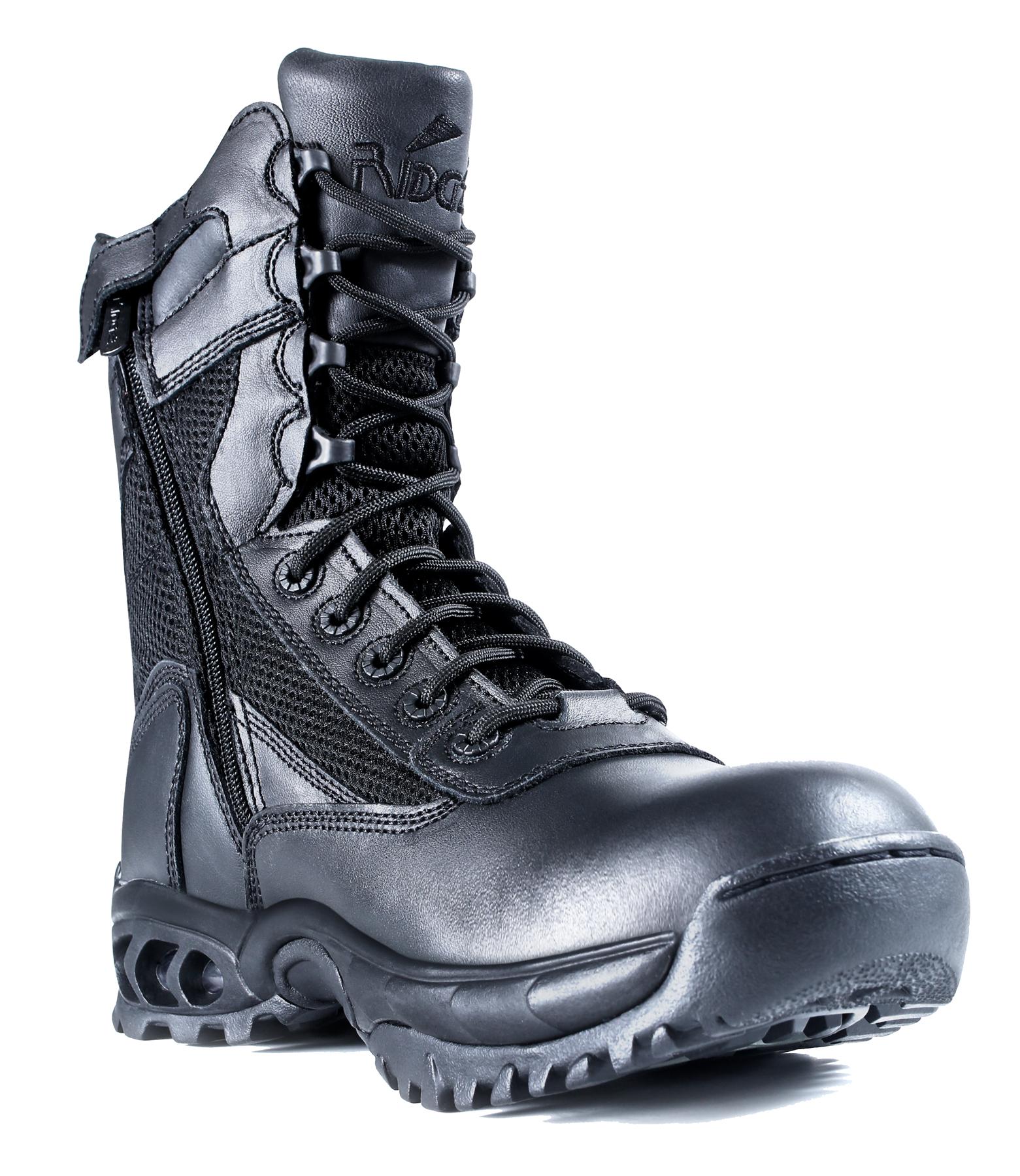 "Men's 8"" Black AIR-TAC Plus Zipper PartNumber: 067VA69794612P"