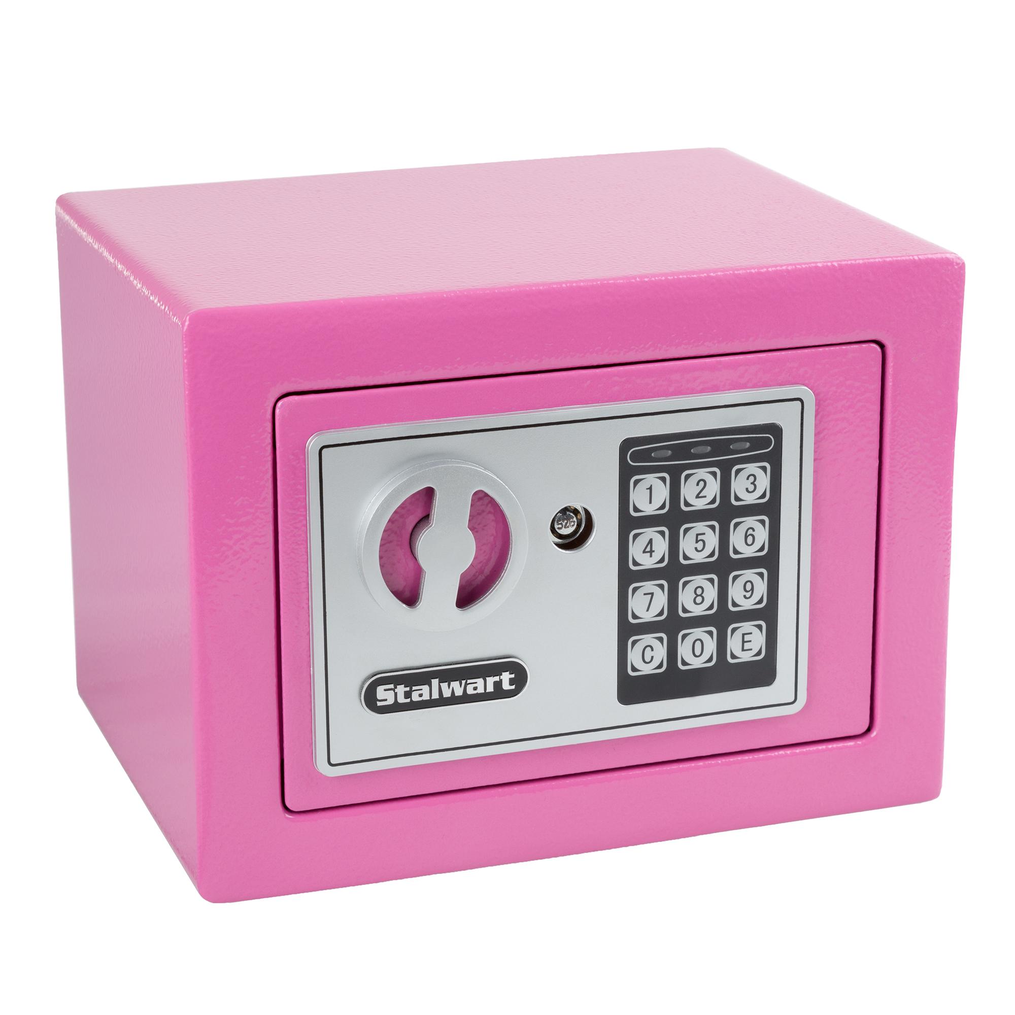 Stalwart digital steel security safe for valuables shop for 1 51 cu ft solid steel digital floor safe
