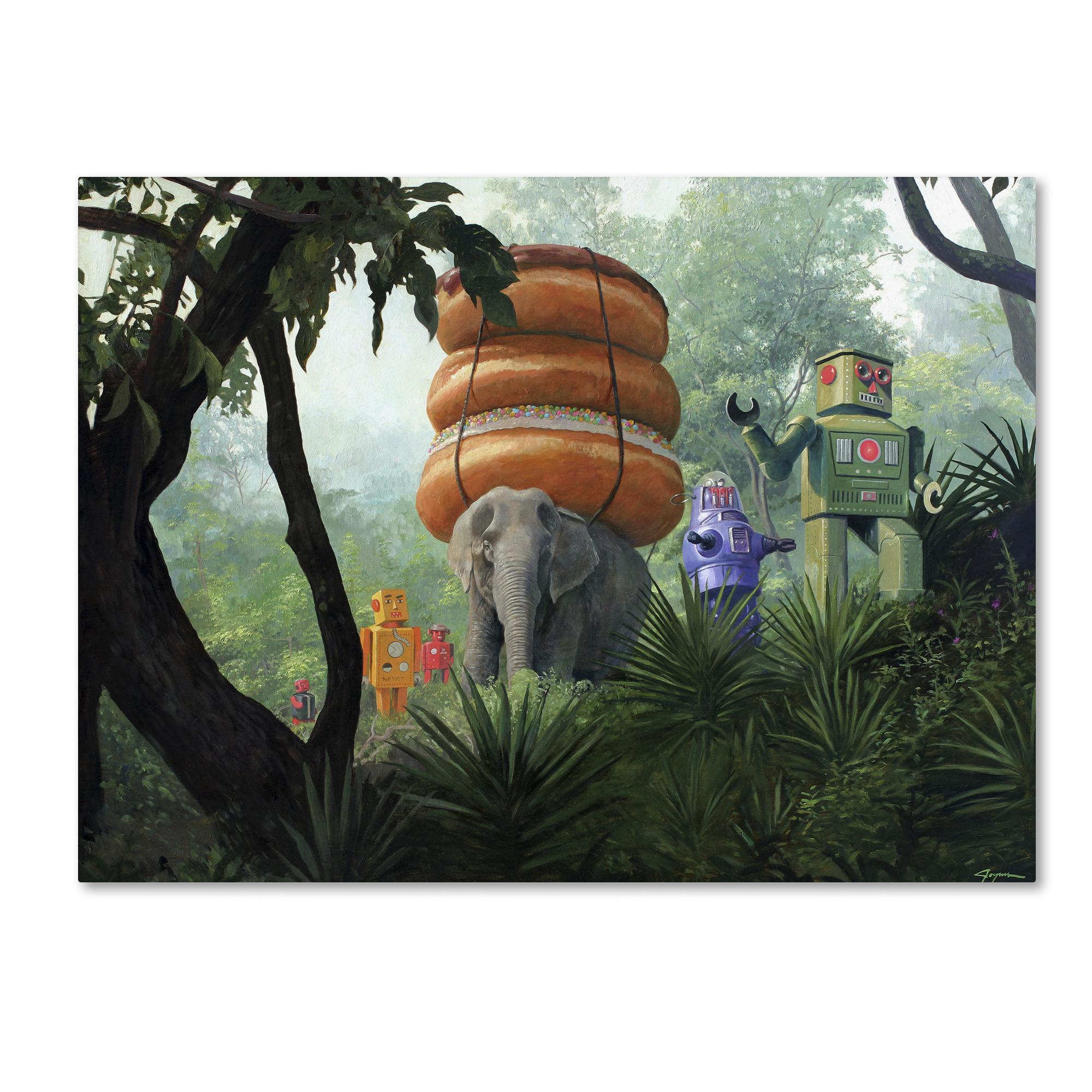 Trademark Fine Art Eric Joyner 'On Tiger Mountain' Canvas Art
