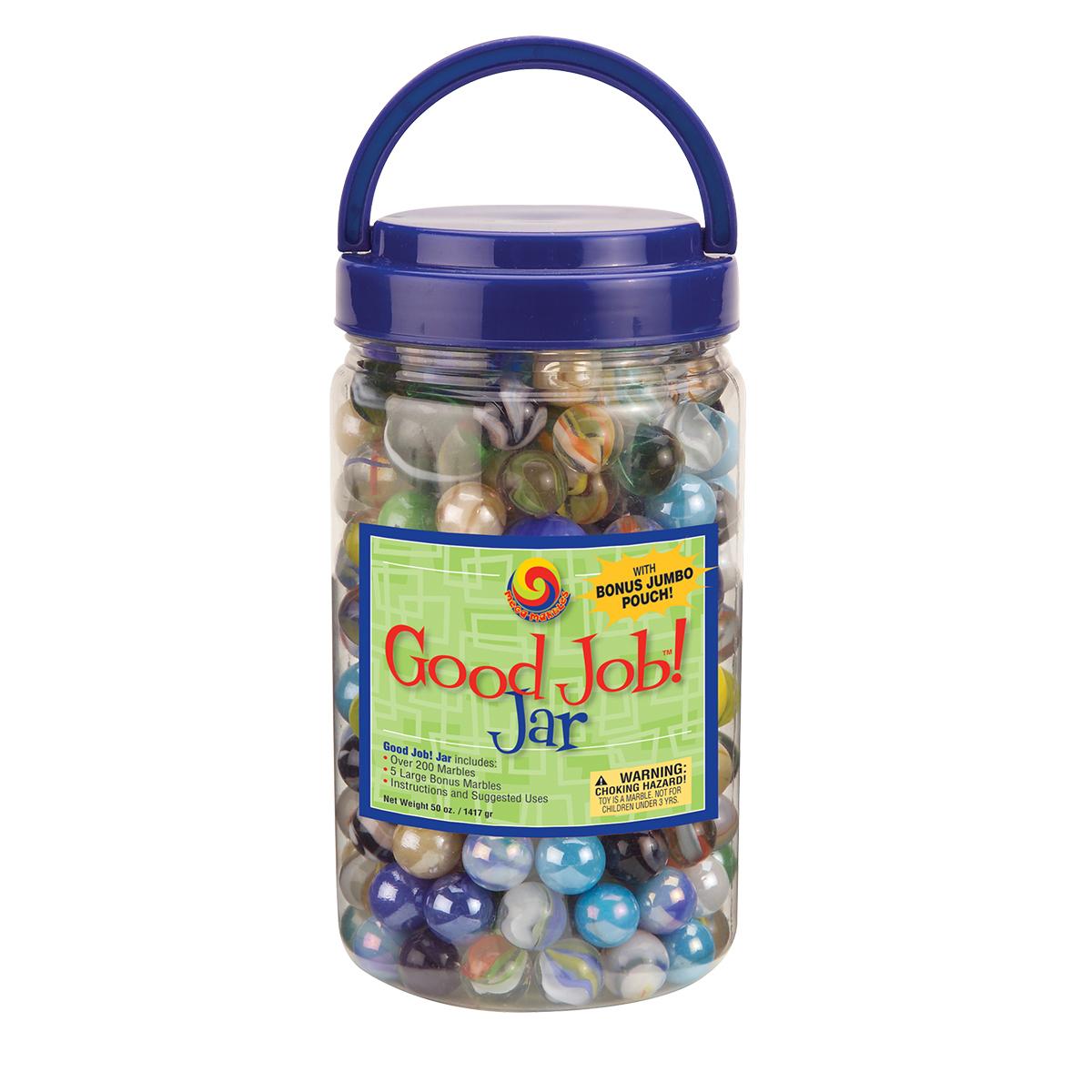 Image of MegaFun USA Good Job! Marble Jar