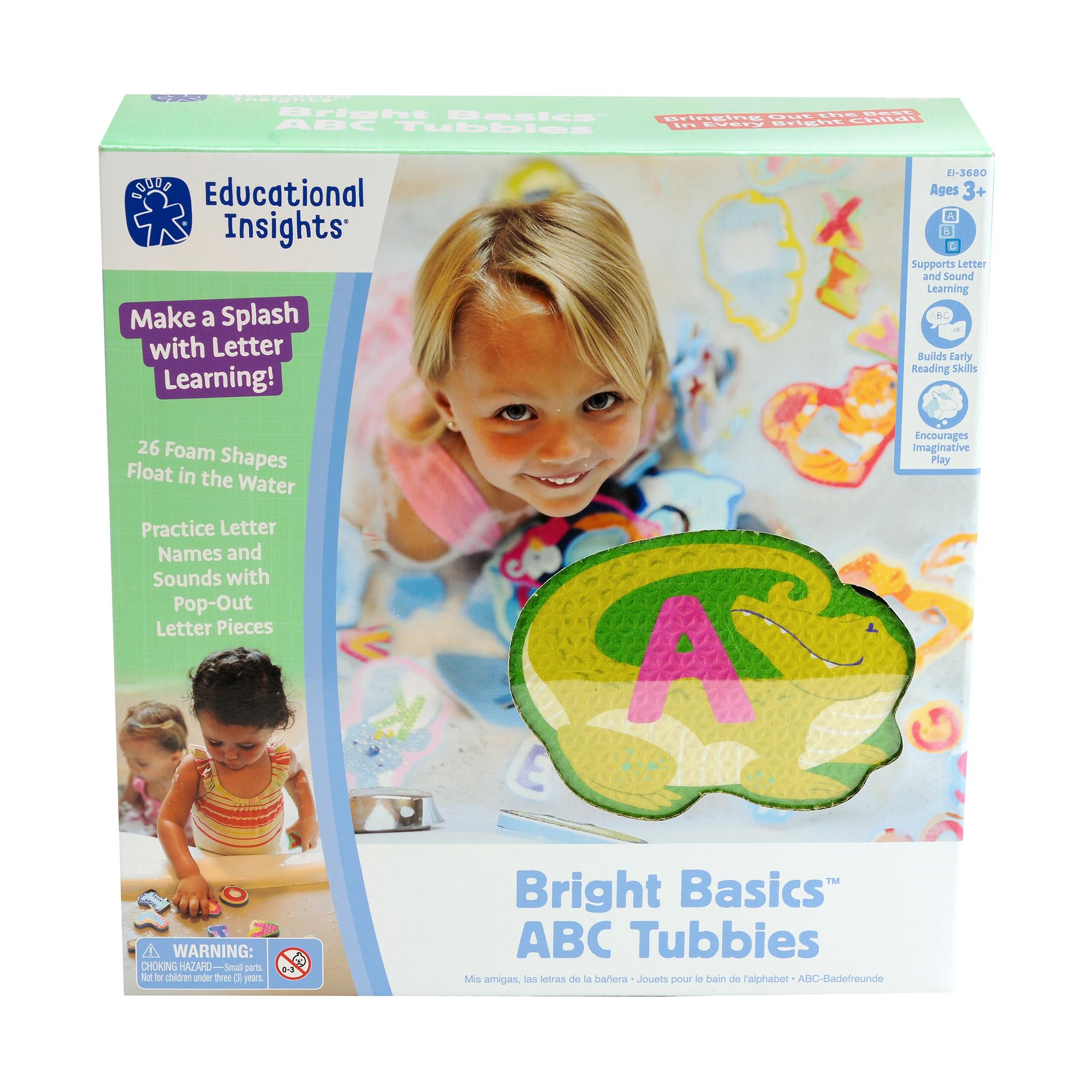 Image of Educational Insights Bright Basics ABC Tubbies