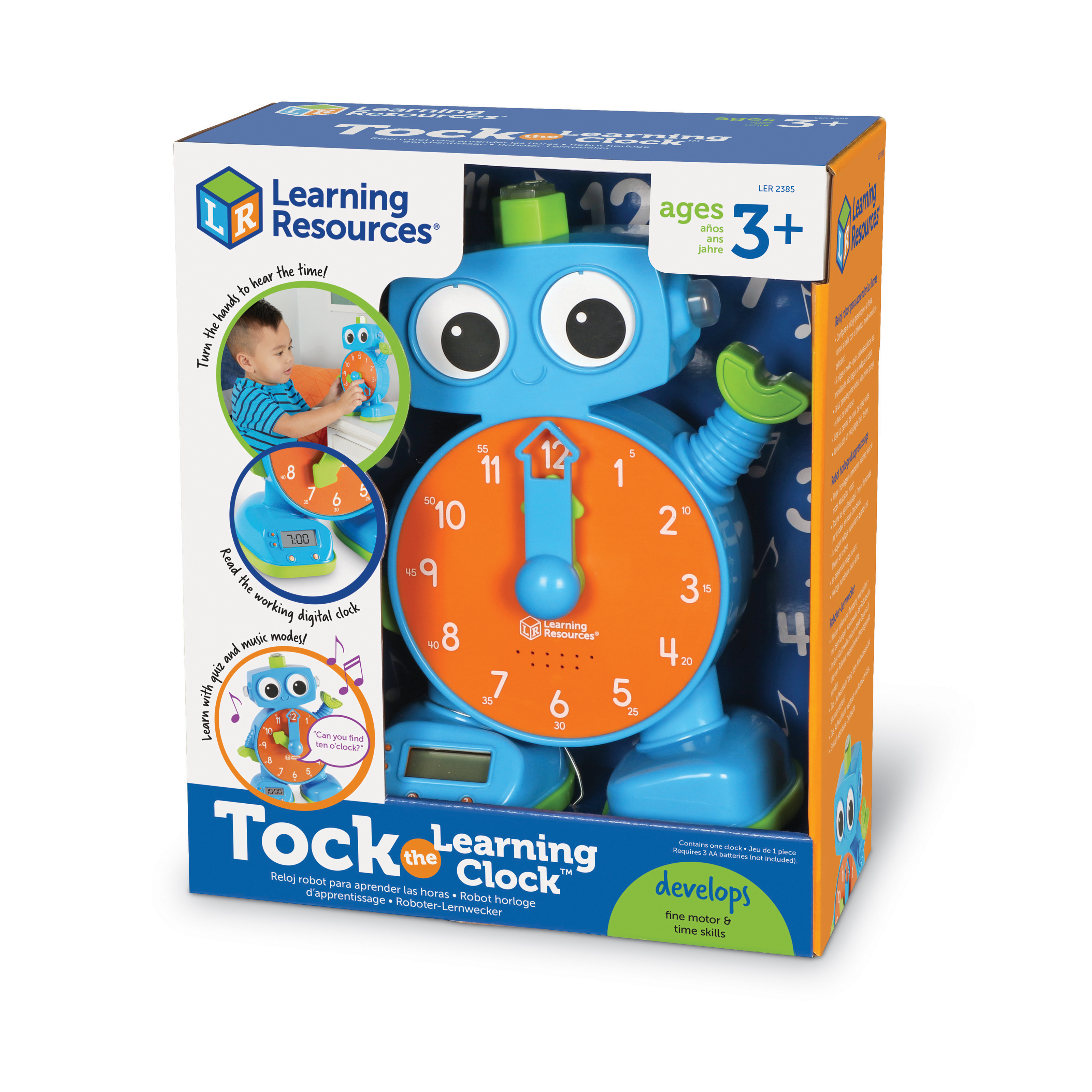 Image of Learning Resources Tock the Learning Clock