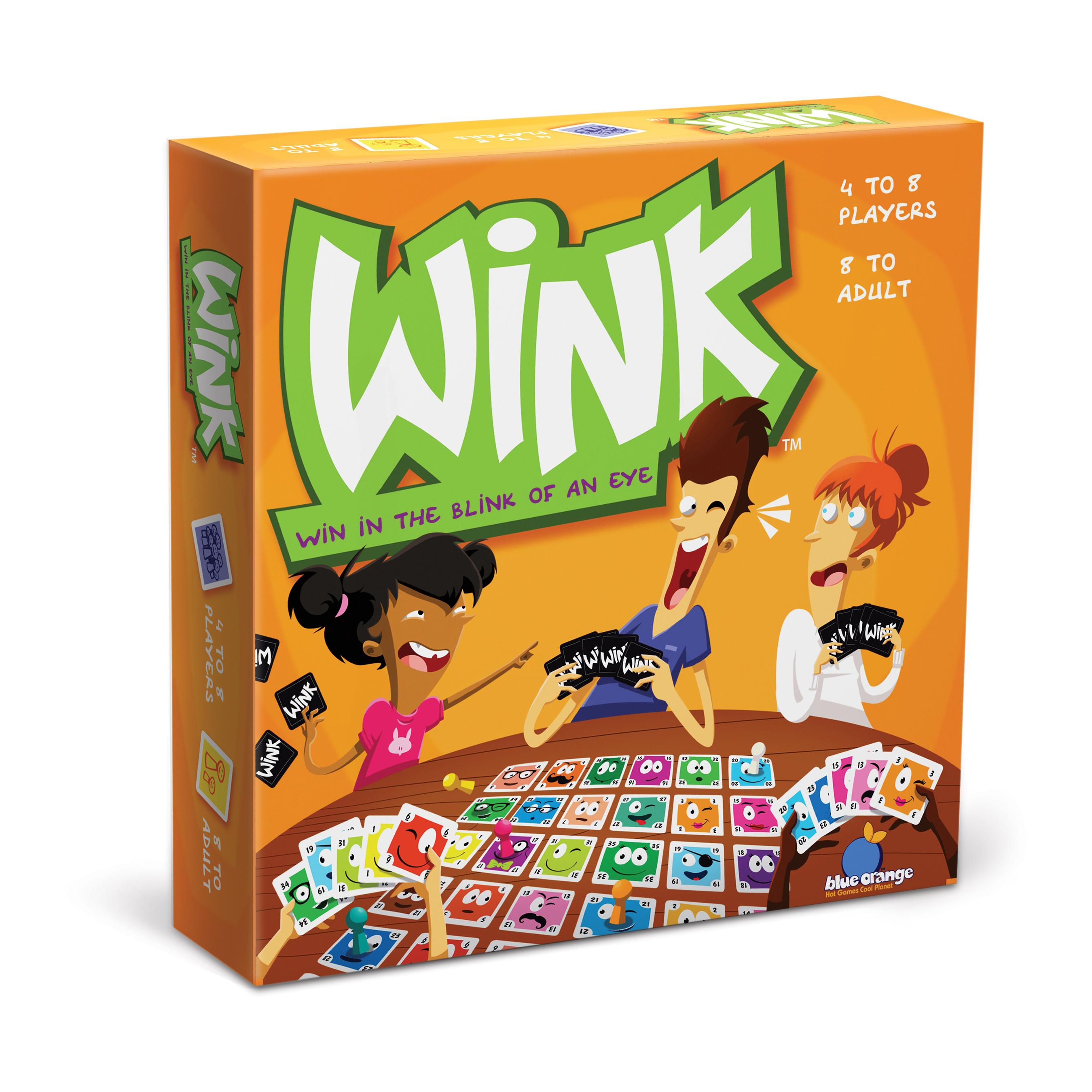 Blue Orange Games Wink PartNumber: 05212814000P KsnValue: 4720562 MfgPartNumber: BL01100