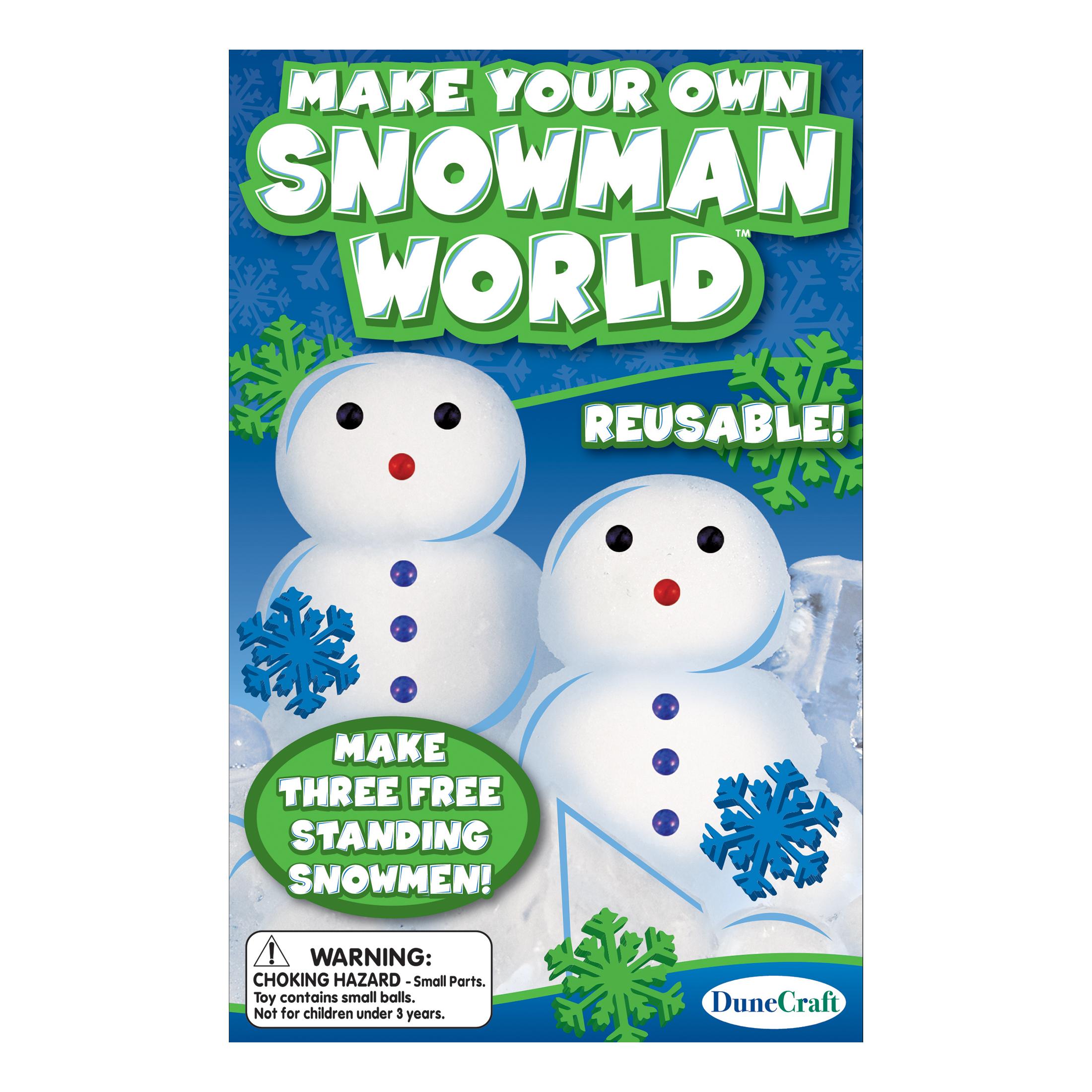Dunecraft make your own snowman world - Create your world ...