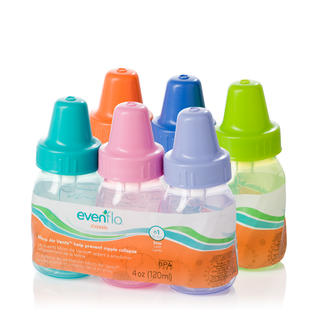 6483d644d35c Evenflo Baby Bottles 3 Pack Classic Polypropylene without BPA Tinted