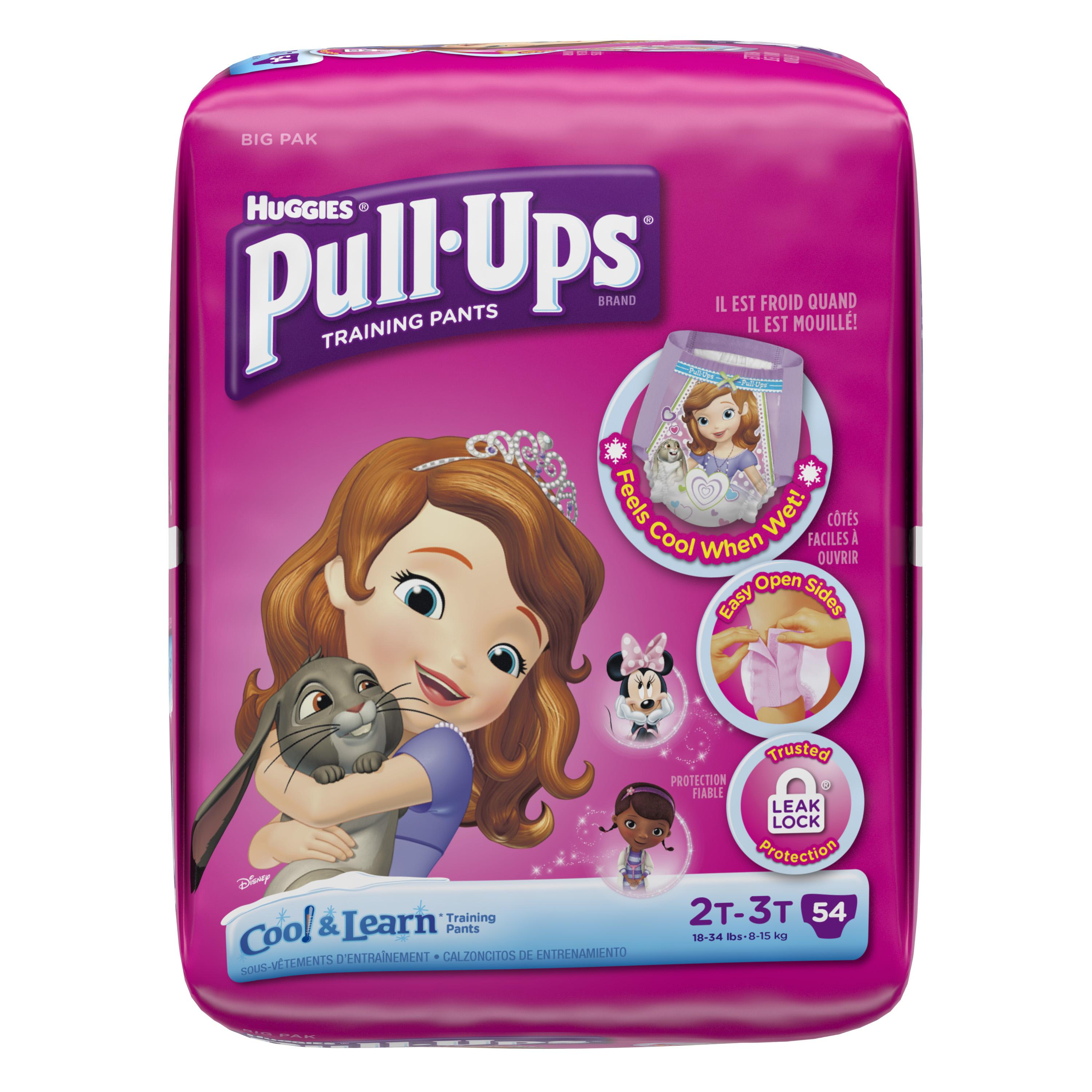 Pull-Ups Pull-Ups�� Training Pants with Cool & Learn�� for Girls 2T-3T