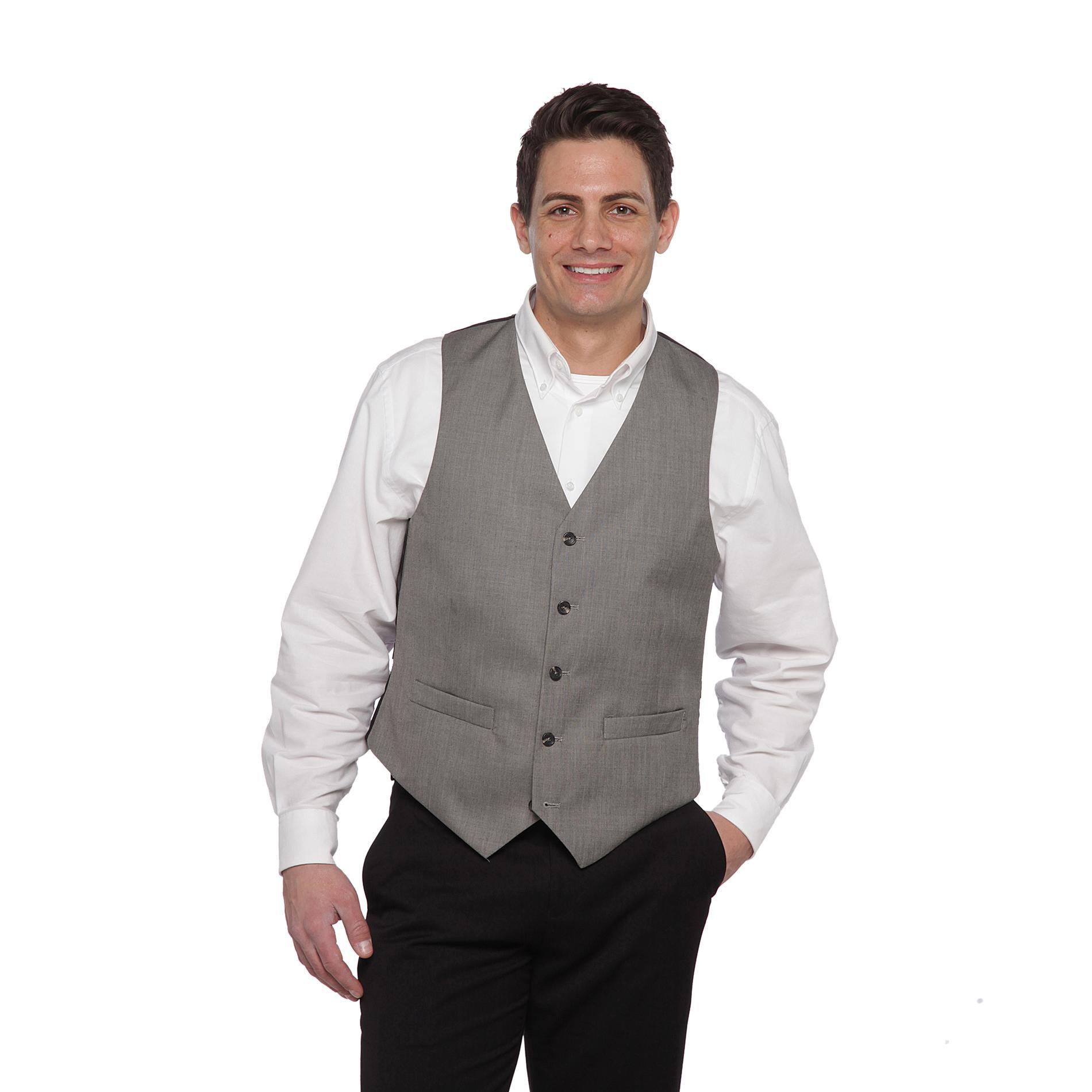 Dockers Men S Sharkskin Suit Vest