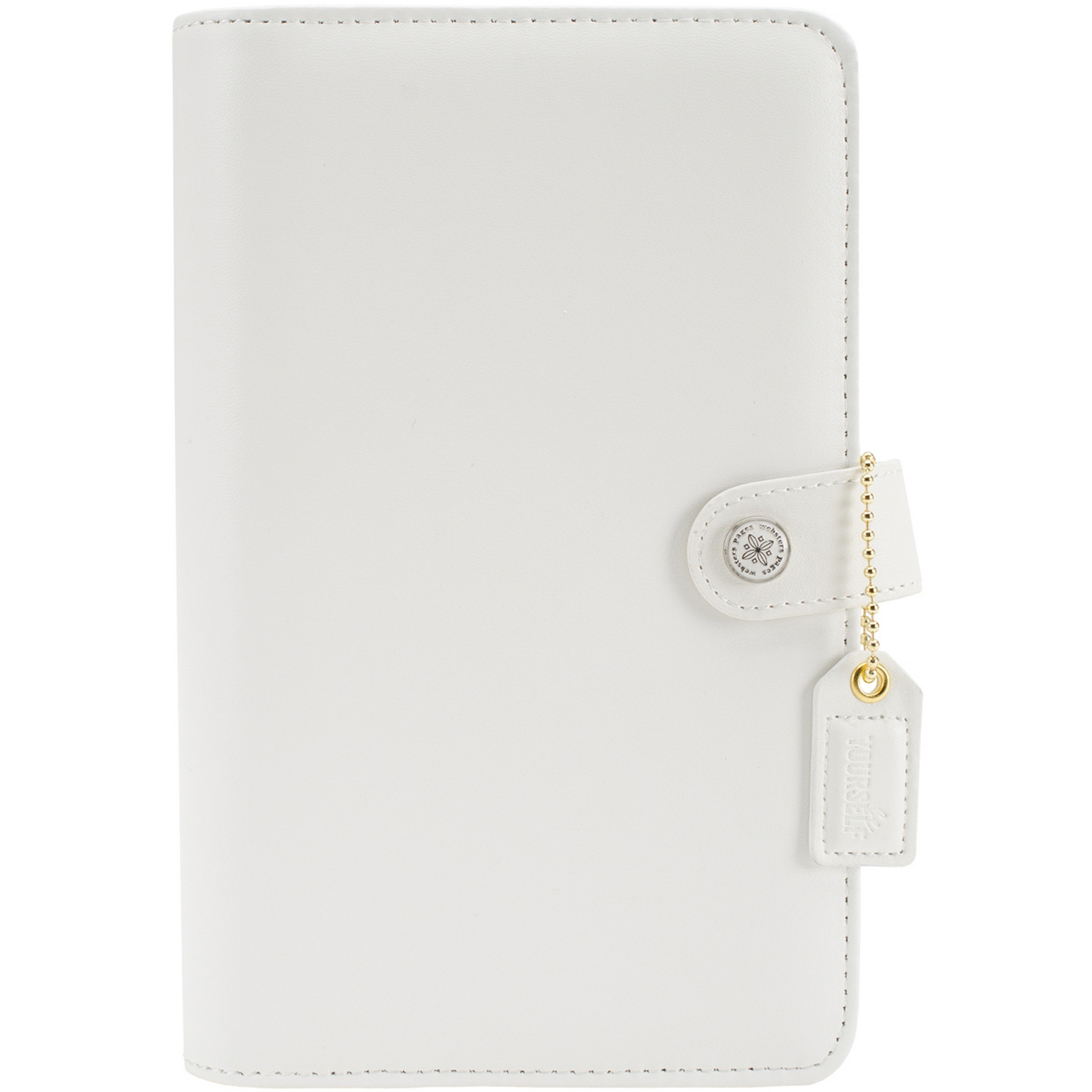 "Color Crush 179218 Faux Leather Personal Planner Kit 5.5""X8"" White PartNumber: 021V009131276000P KsnValue: 9131276 MfgPartNumber: 179218"