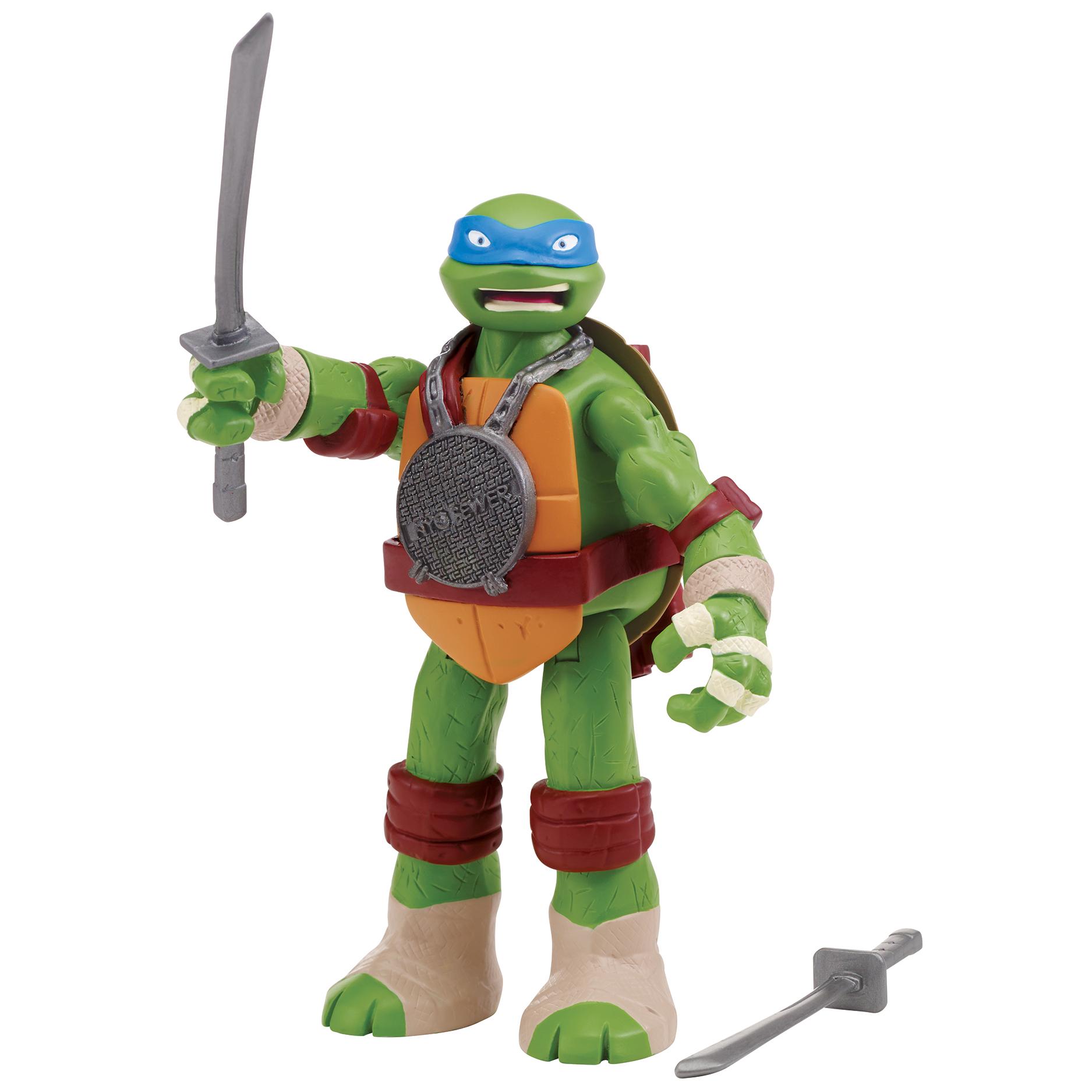 Teenage Mutant Ninja Turtles Hand-To-Hand Leonardo Action Figure PartNumber: 004W005200115027P