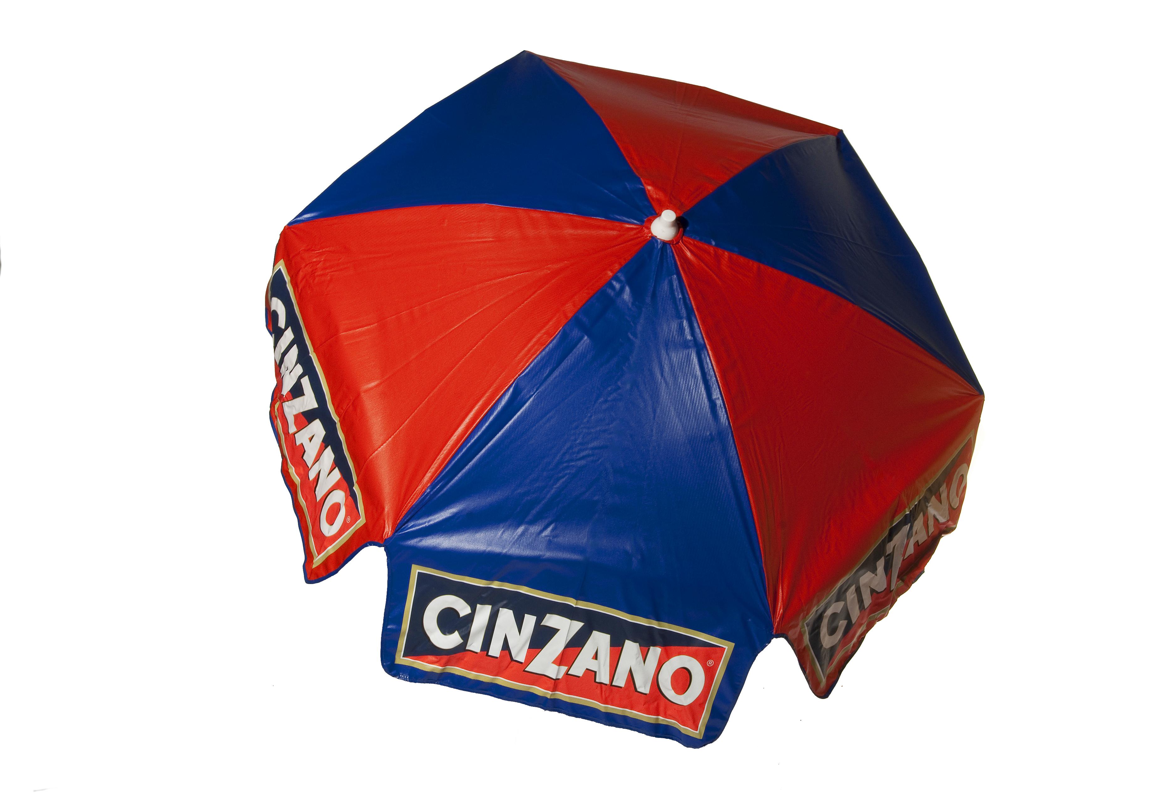 6' Cinzano Vinyl Patio Umbrella