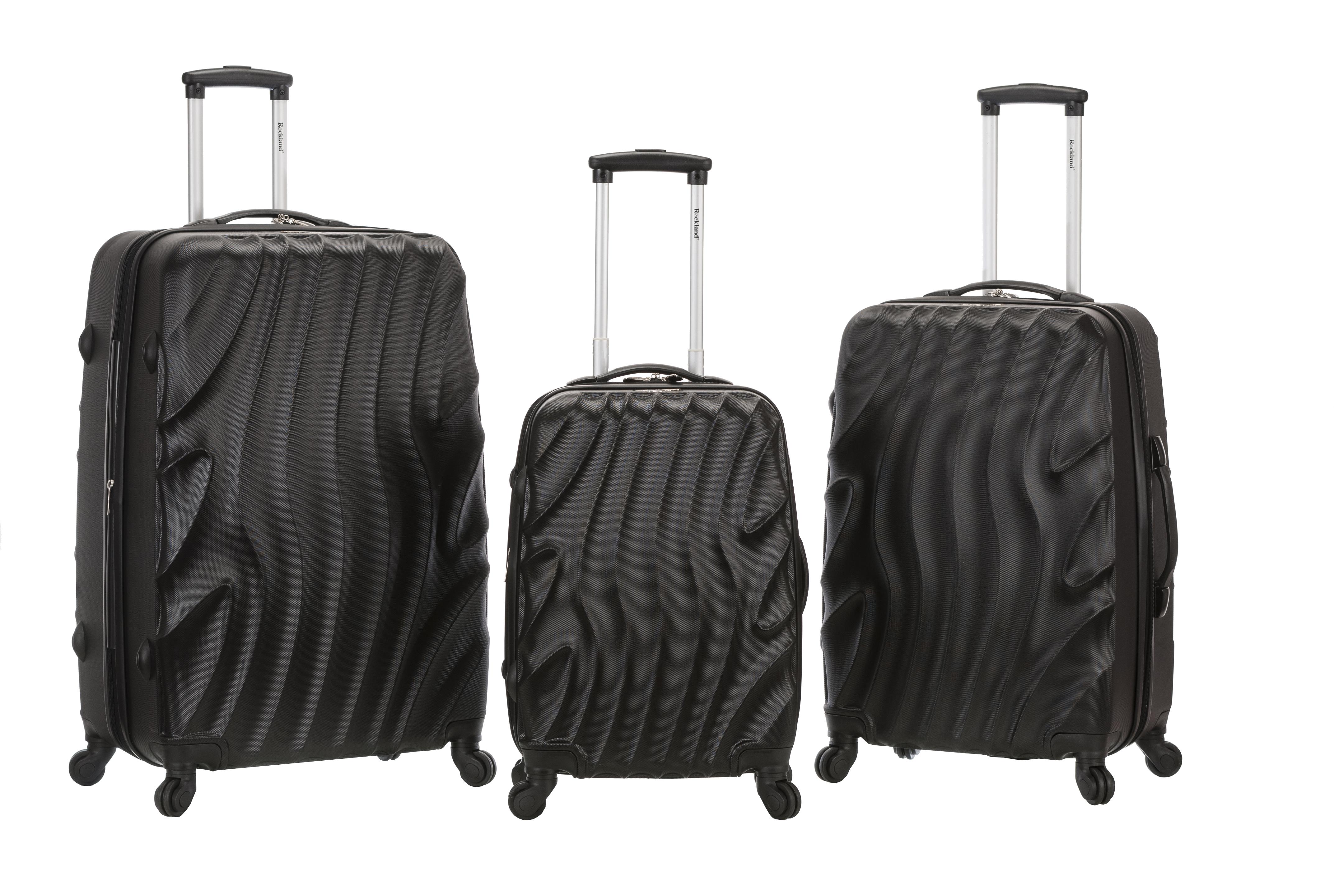 3 pc. Melbourne Hardisde Luggage Set