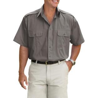 Harbor Bay Men's Big & Tall Pilot Sport Shirt