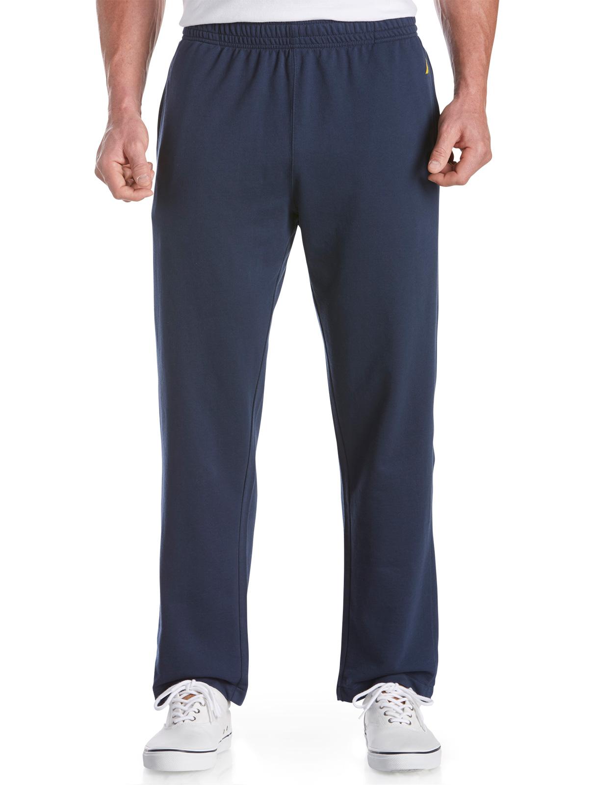 Nautica Men's Big and Tall Knit Pants