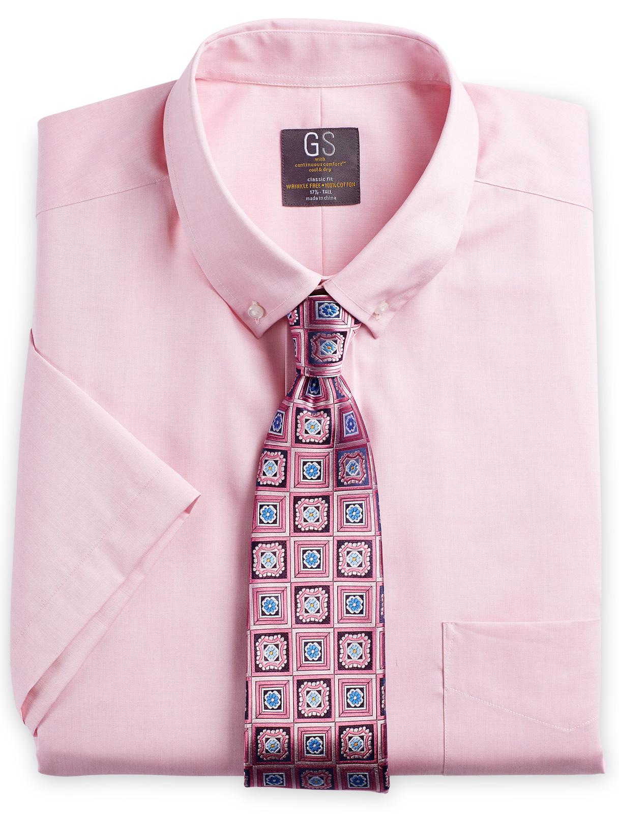 Men's big and Tall Oxford Dress Shirt